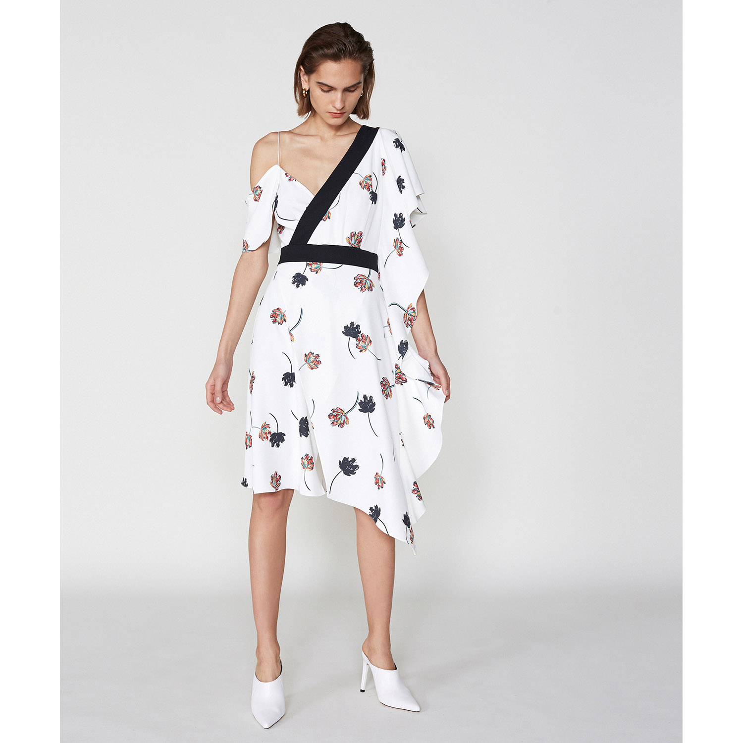 The Devonshire Dress by Outline on curated-crowd.com