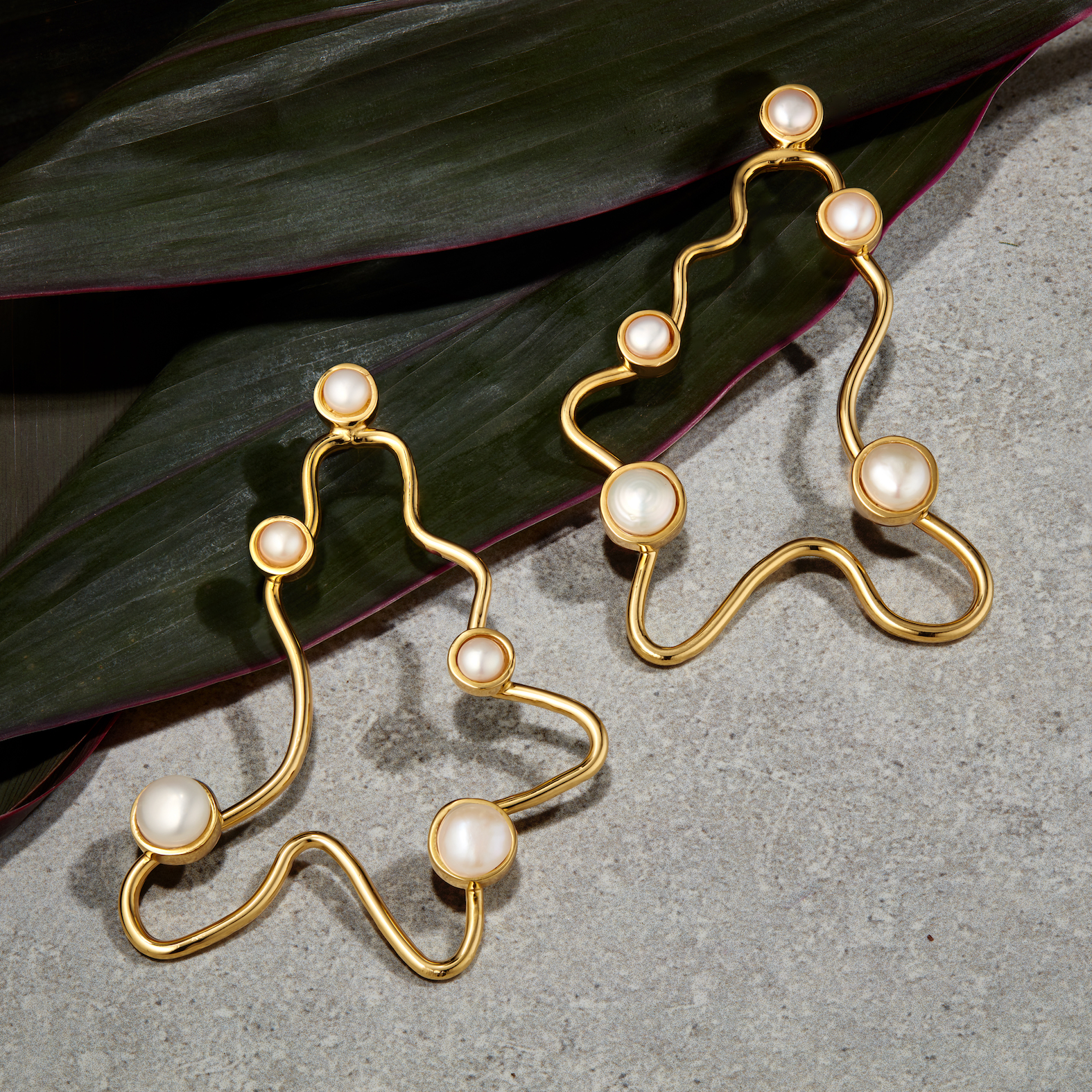Nay Pearl Earrings by Jill Hopkins Jewellery on curated-crowd.com