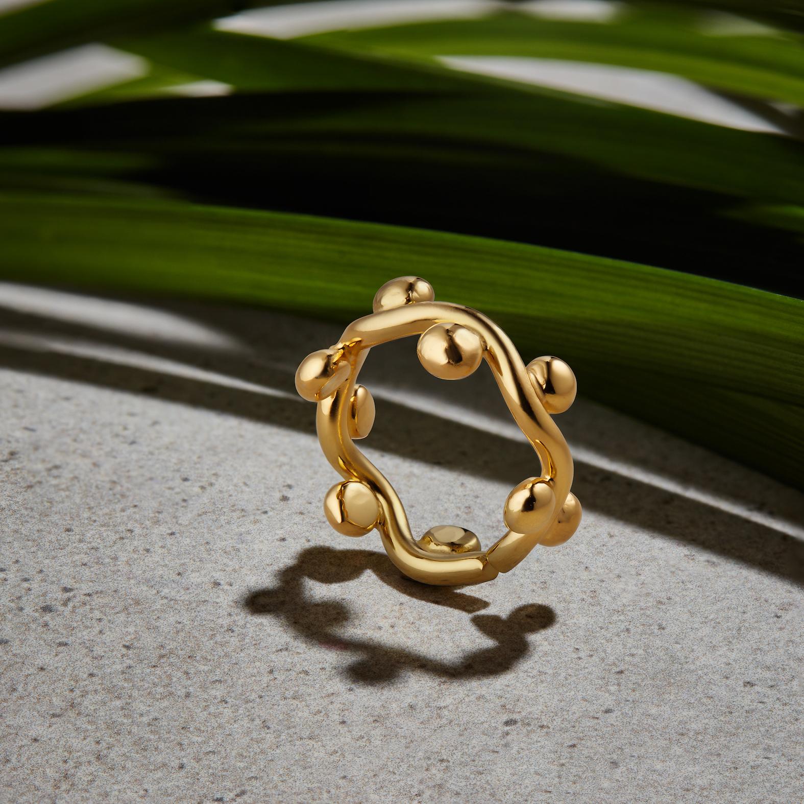 Curvez Plain Midi Ring by Jill Hopkins Jewellery on curated-crowd.com