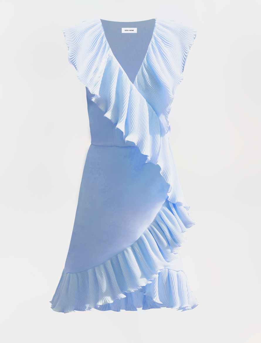 Ayla Dress, Candy Blue by Georgia Hardinge on curated-crowd.com