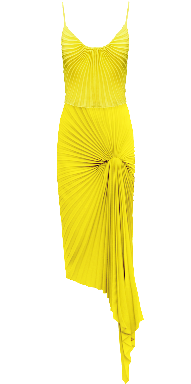 Dazed Dress, Yellow by Georgia Hardinge on curated-crowd.com