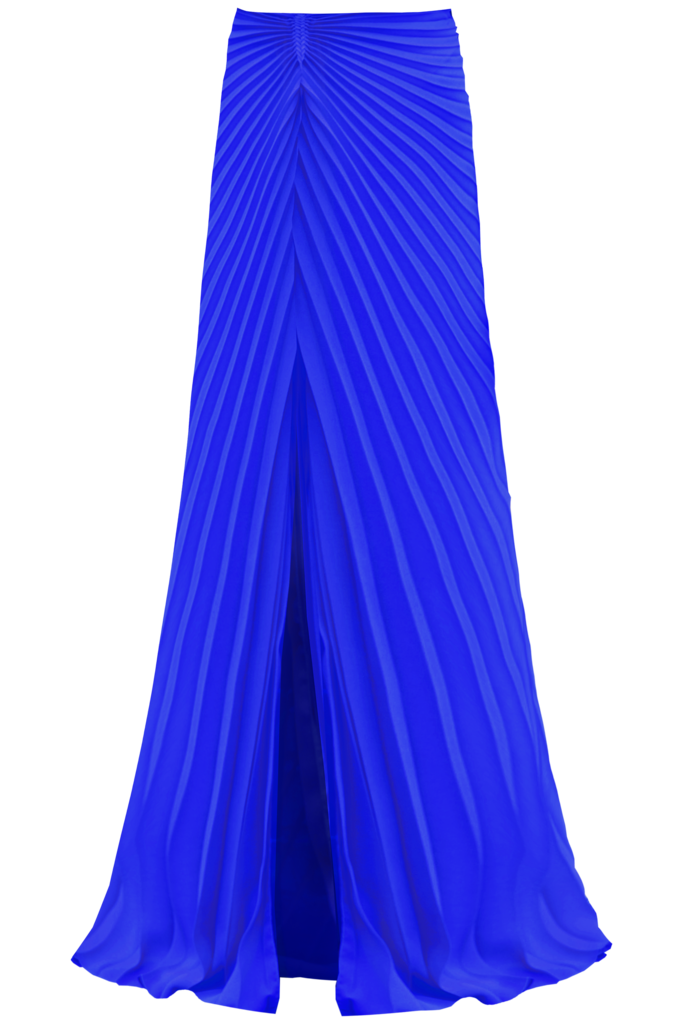 Illusion Skirt, Cobalt by Georgia Hardinge on curated-crowd.com