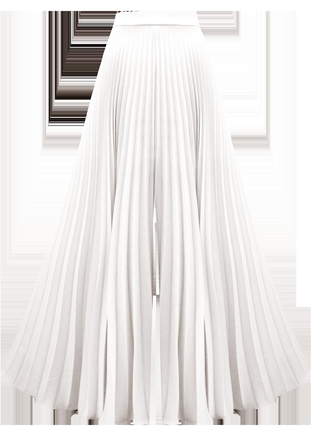 Luminary Culotte, Ivory by Georgia Hardinge on curated-crowd.com
