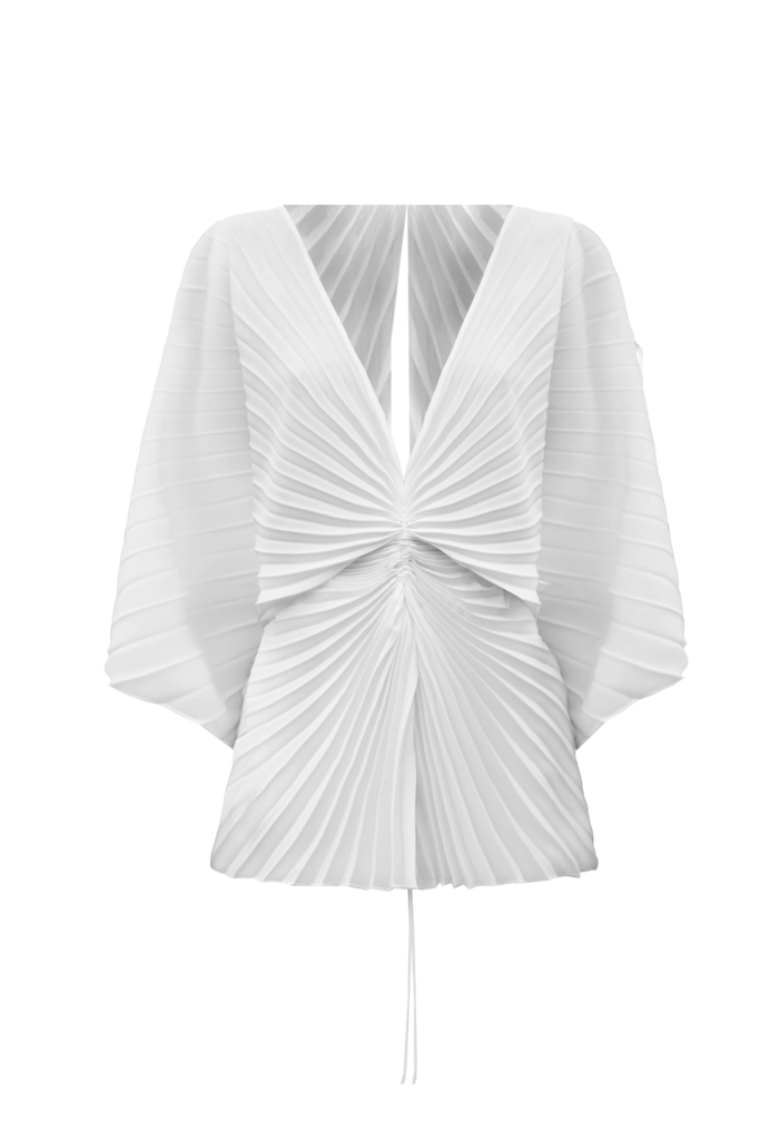 Illusion Top, Ivory by Georgia Hardinge on curated-crowd.com