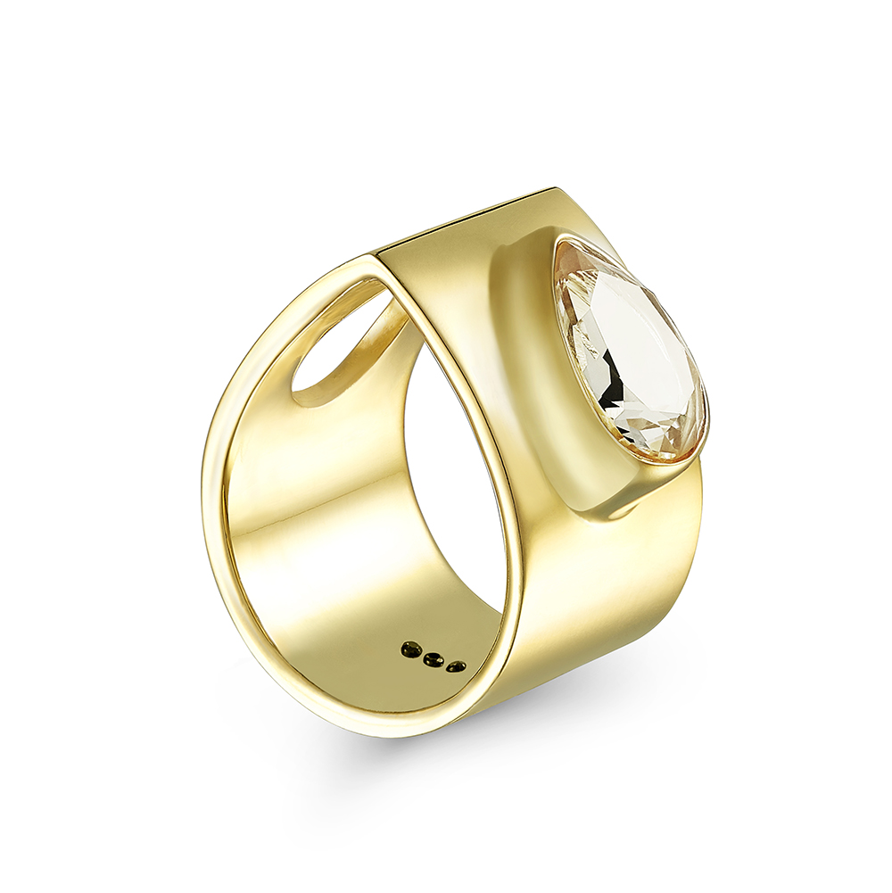 Archer's Ring Yellow Gold by Taal Noir on curated-crowd.com