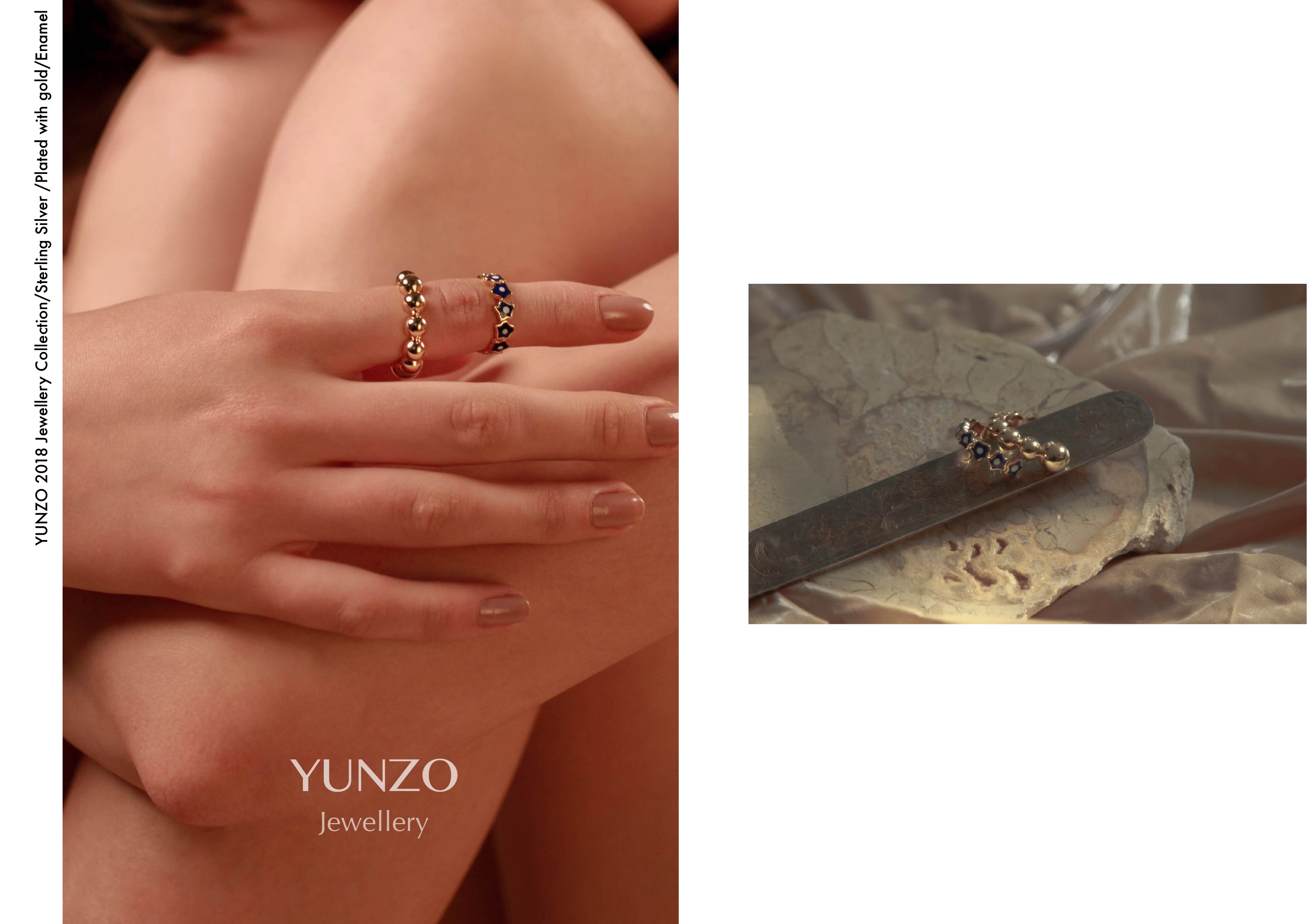 Gold Bead Ring by YUNZO on curated-crowd.com