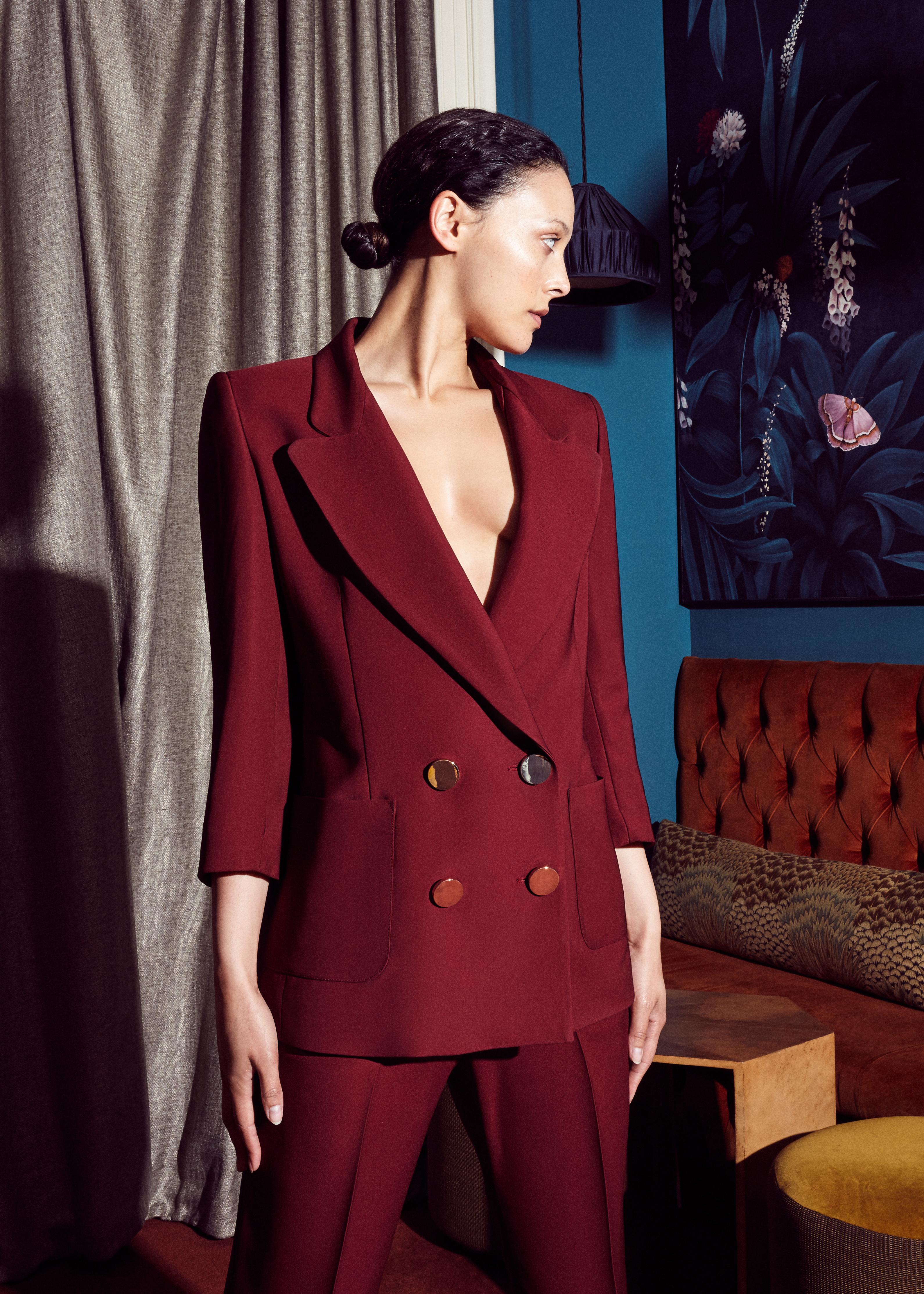 Austeja Jacket by Bozena Jankowska on curated-crowd.com
