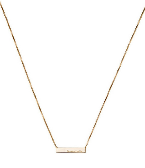 Necklace Je Souhaite by Maramz on curated-crowd.com