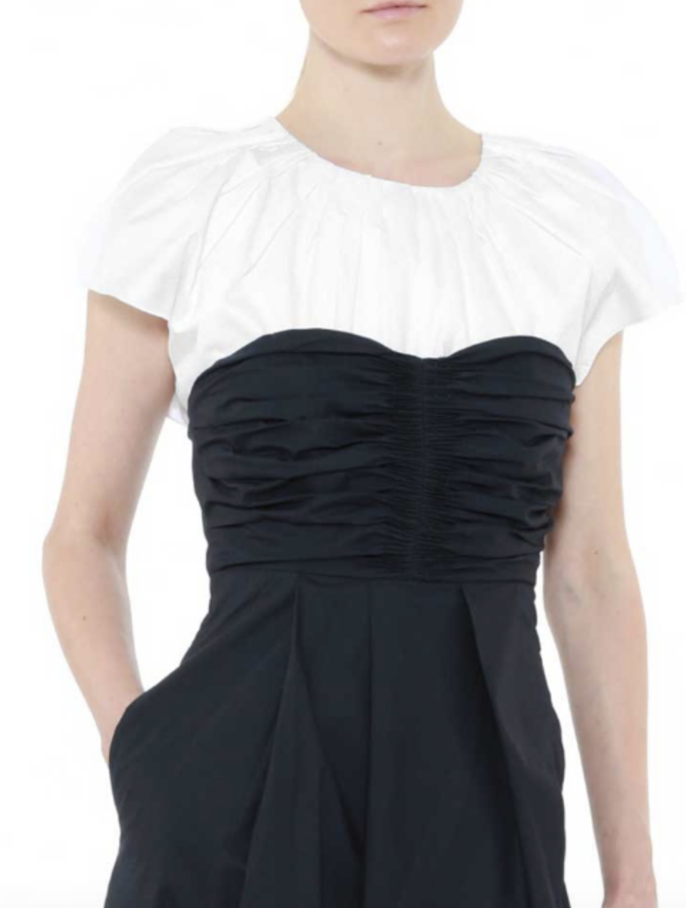 Hand Pleated Sleeveless Blouse by Teija on curated-crowd.com