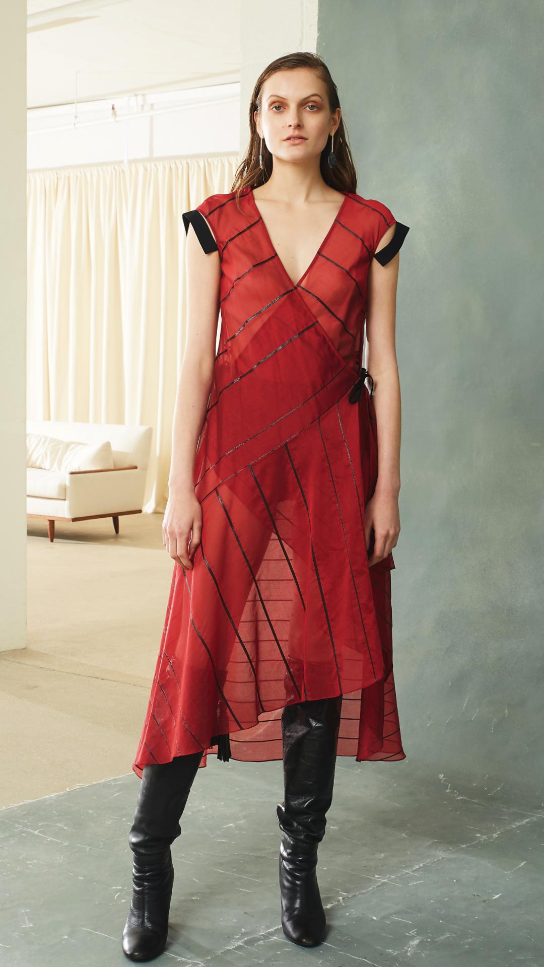 Elegy Dress by Alexandra Kaiser on curated-crowd.com
