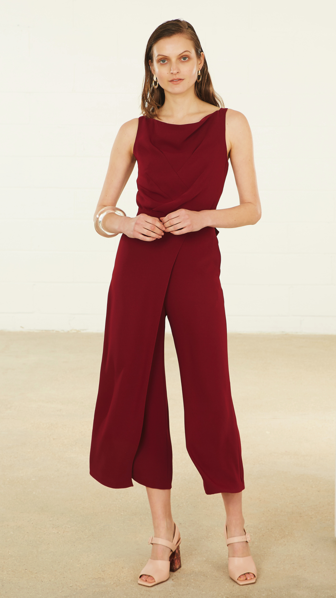 Emory Jumpsuit by Alexandra Kaiser on curated-crowd.com
