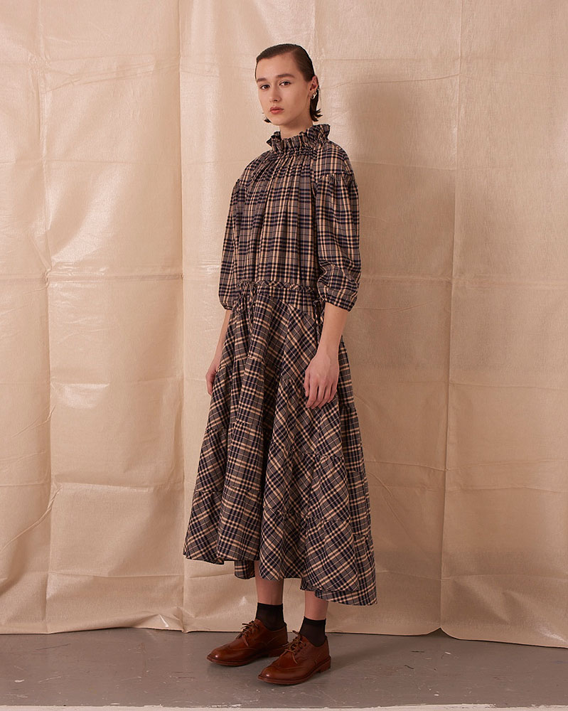 Tiered Maxi Dress by Teija on curated-crowd.com