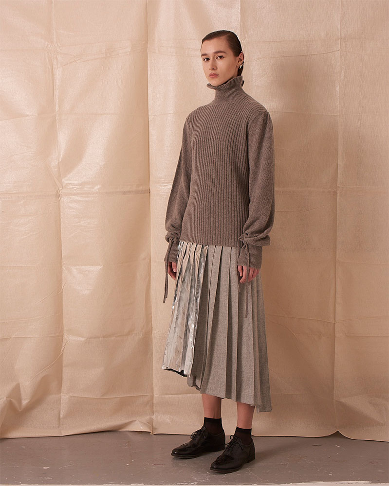 Sweater with Frill Details by Teija on curated-crowd.com
