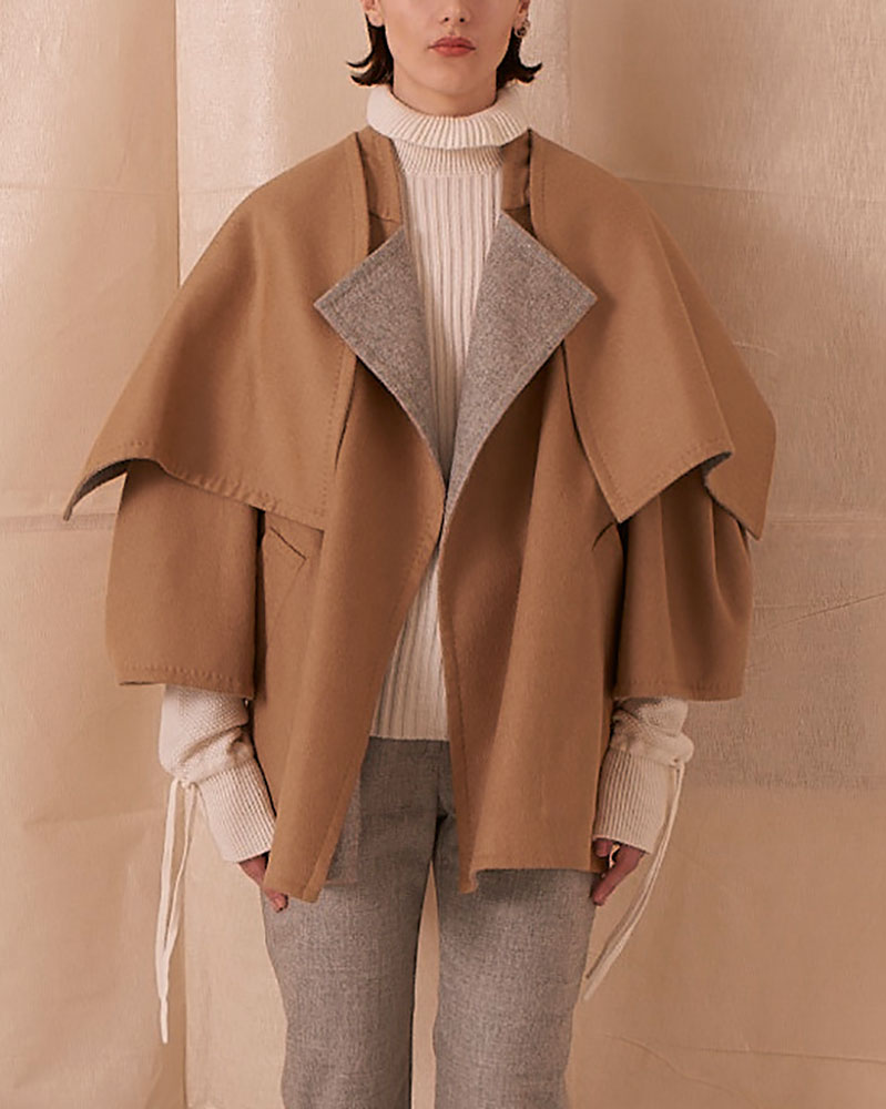 Reversible Wool Coat by Teija on curated-crowd.com