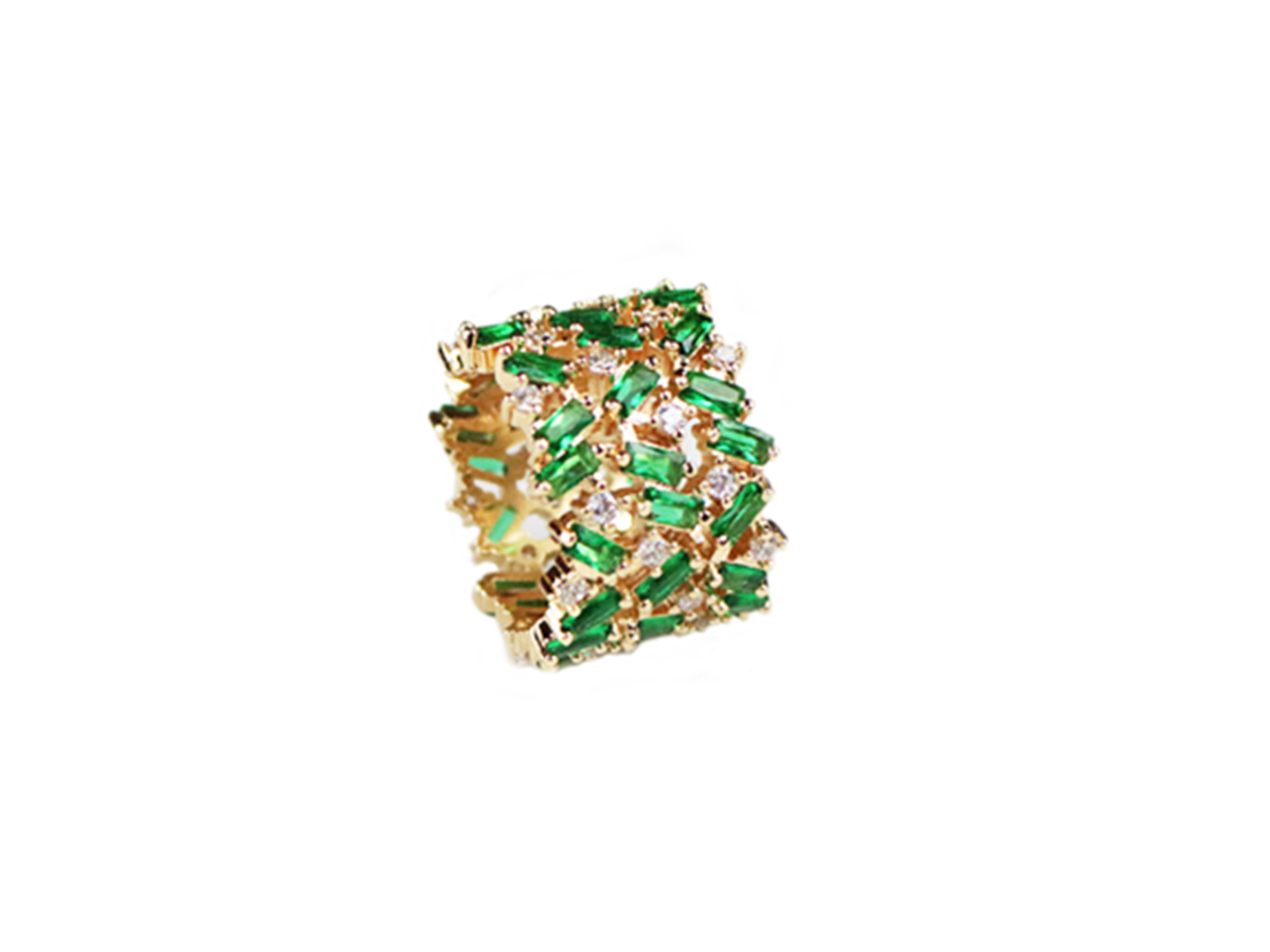 Royal Greenhouse Ring by Lalou London on curated-crowd.com