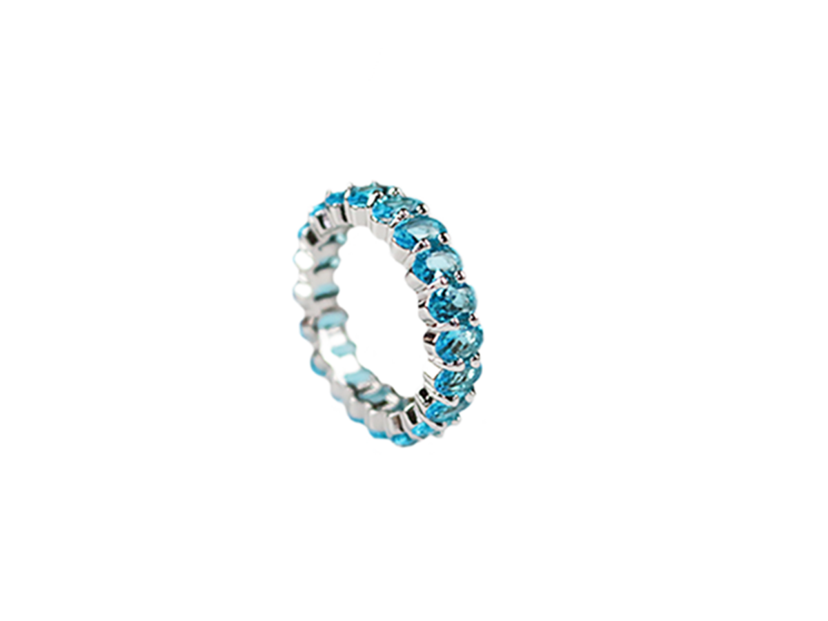 Weekend Vibes Ring by Lalou London on curated-crowd.com