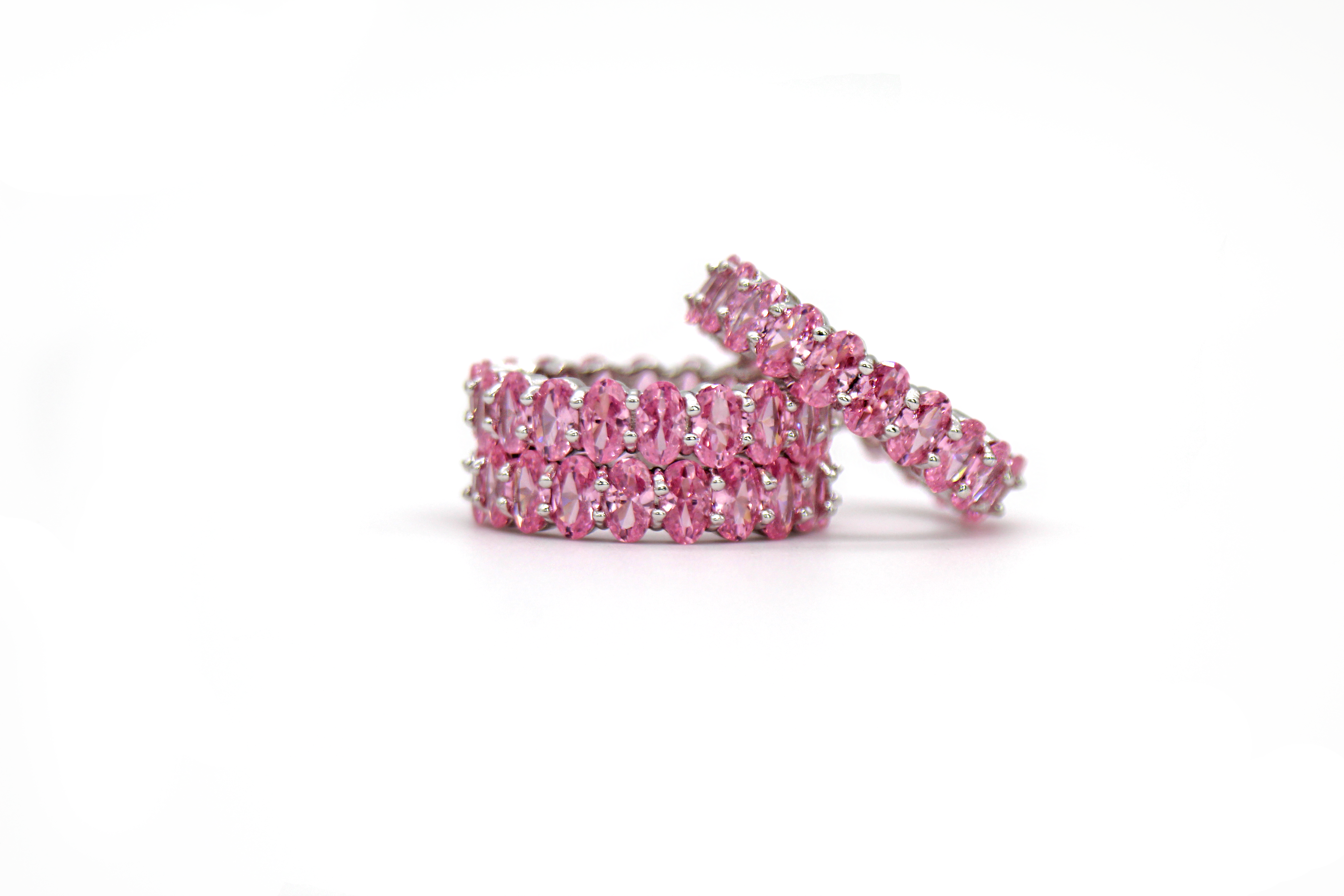 Le Rose Pastel Ring by Lalou London on curated-crowd.com
