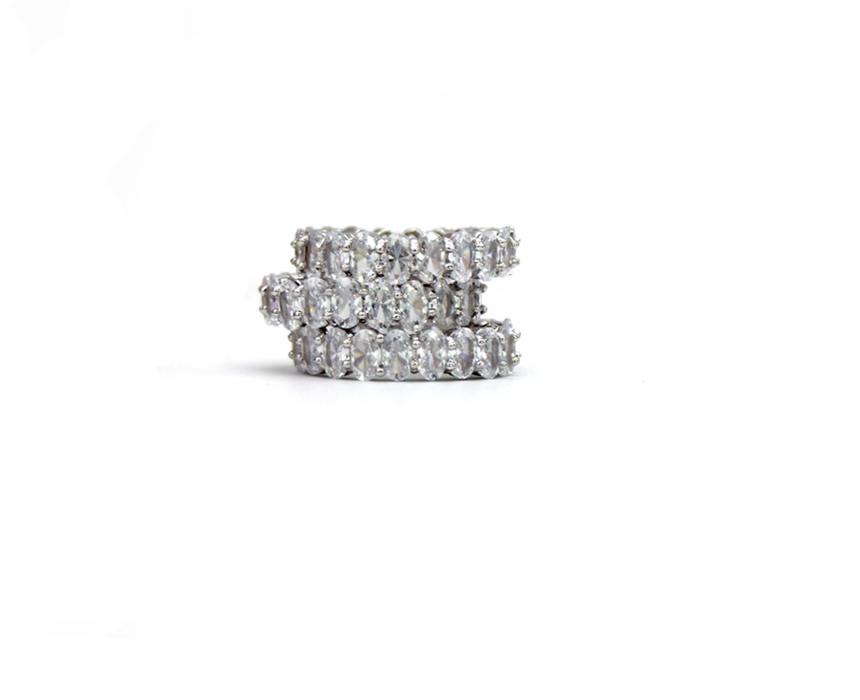 Orchidée Blanche Ring by Lalou London on curated-crowd.com