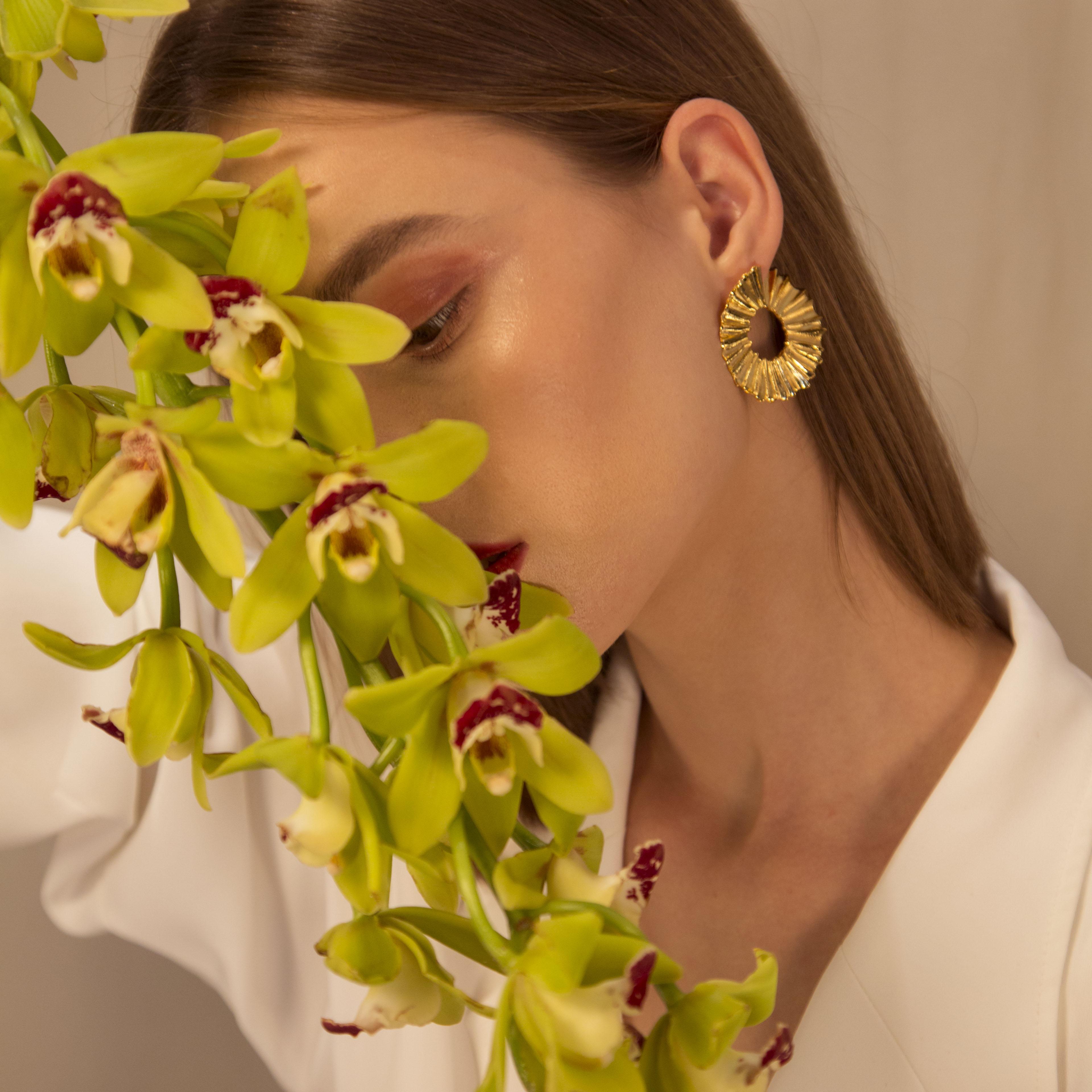 Fancy O Earrings by Lynyer on curated-crowd.com