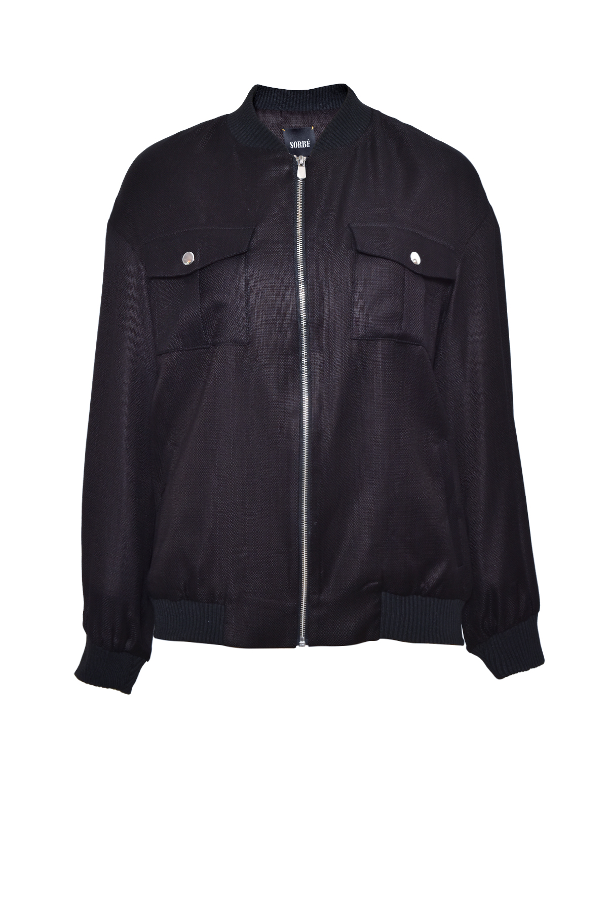 Bomber Jacket - Black by Sorbé on curated-crowd.com