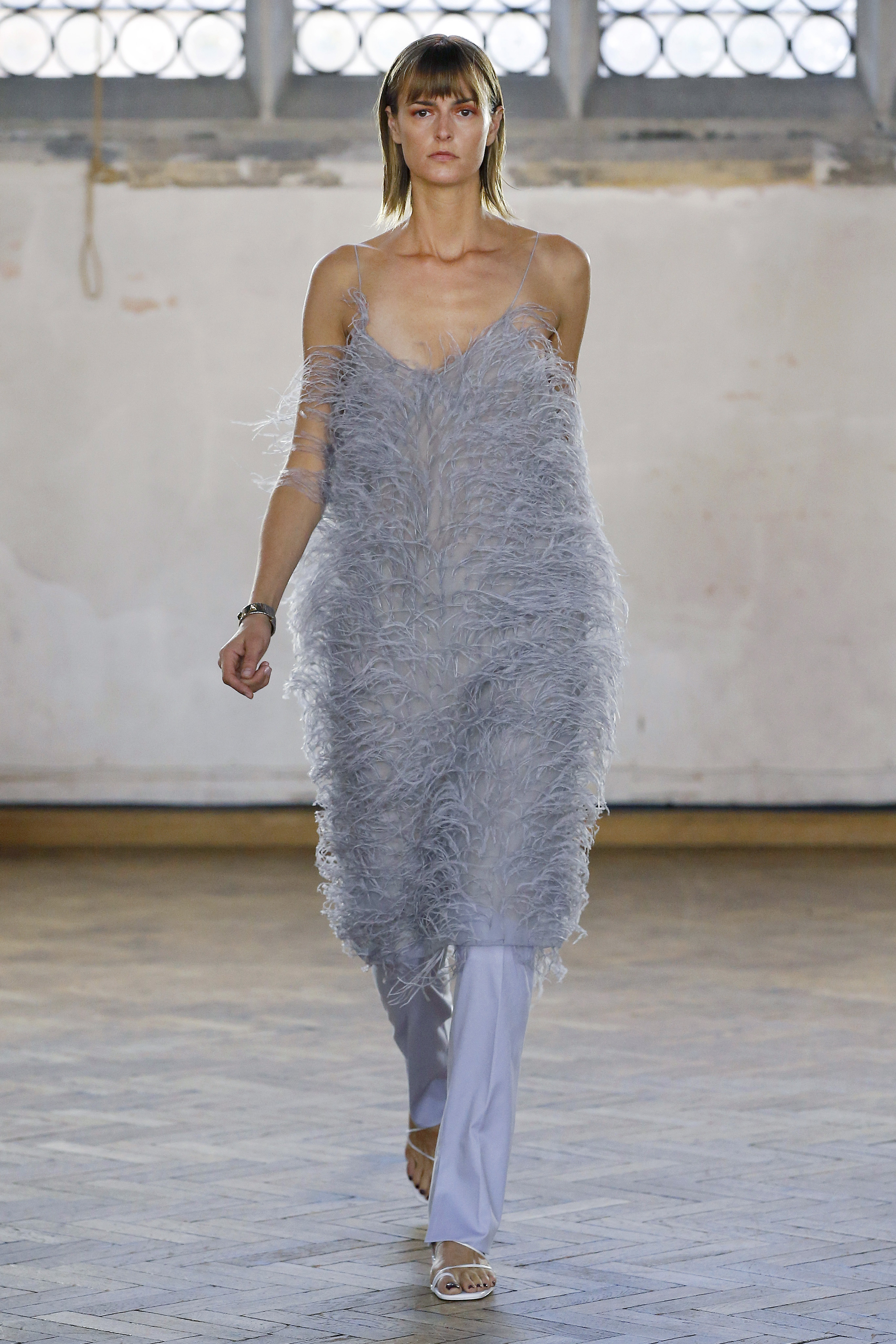 Feather Camisole Dress by Sharon Wauchob on curated-crowd.com