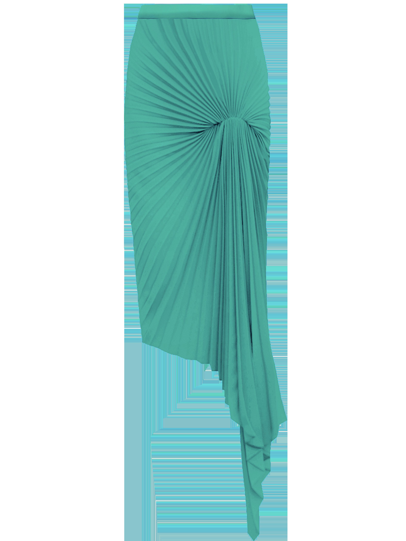 Dazed Skirt - Blue by Georgia Hardinge on curated-crowd.com