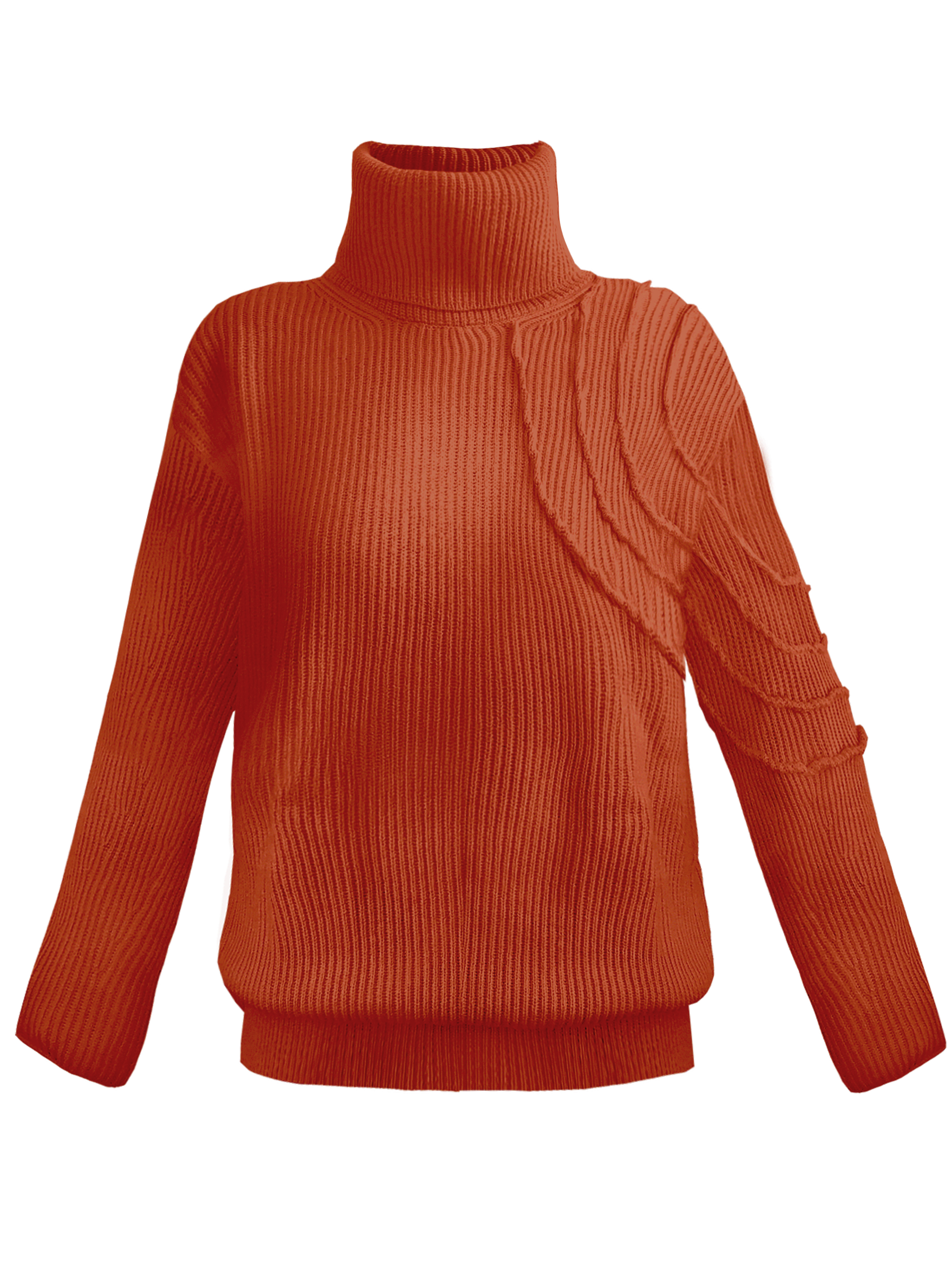 Lucid Turtleneck - Red by Georgia Hardinge on curated-crowd.com