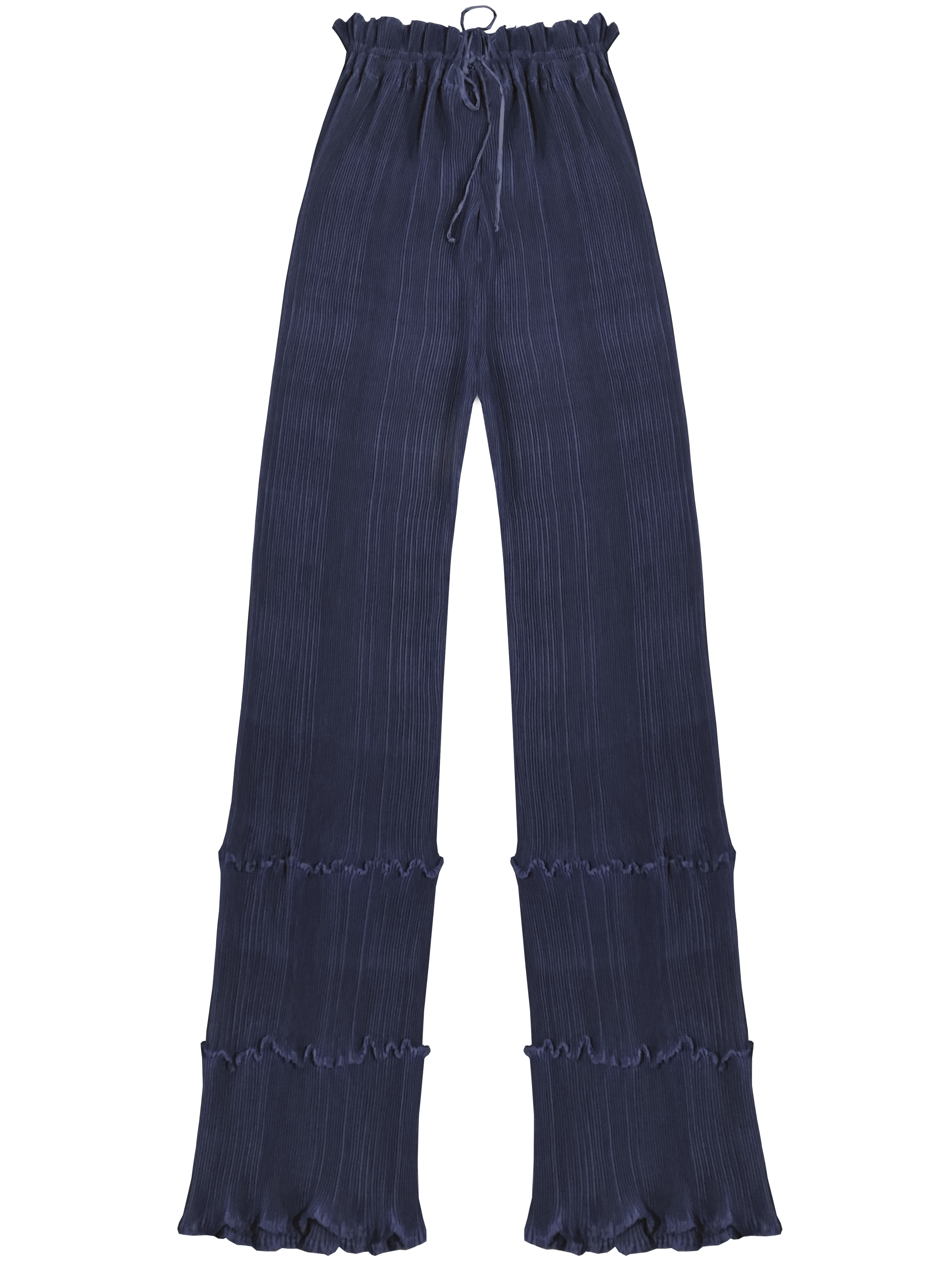 Quartz Trouser - Navy by Georgia Hardinge on curated-crowd.com