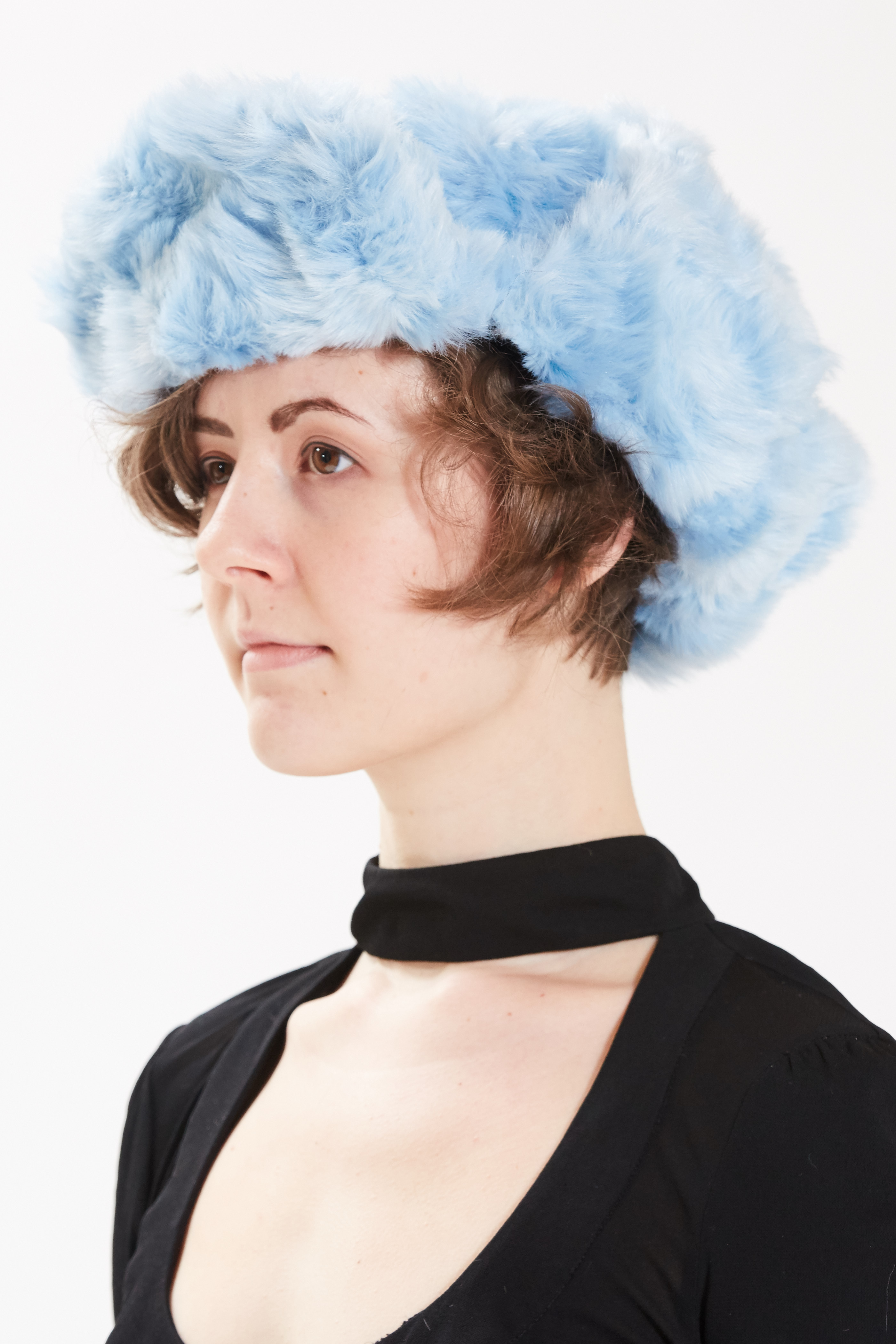 Trapper Hat - Blue by Maison Atia on curated-crowd.com
