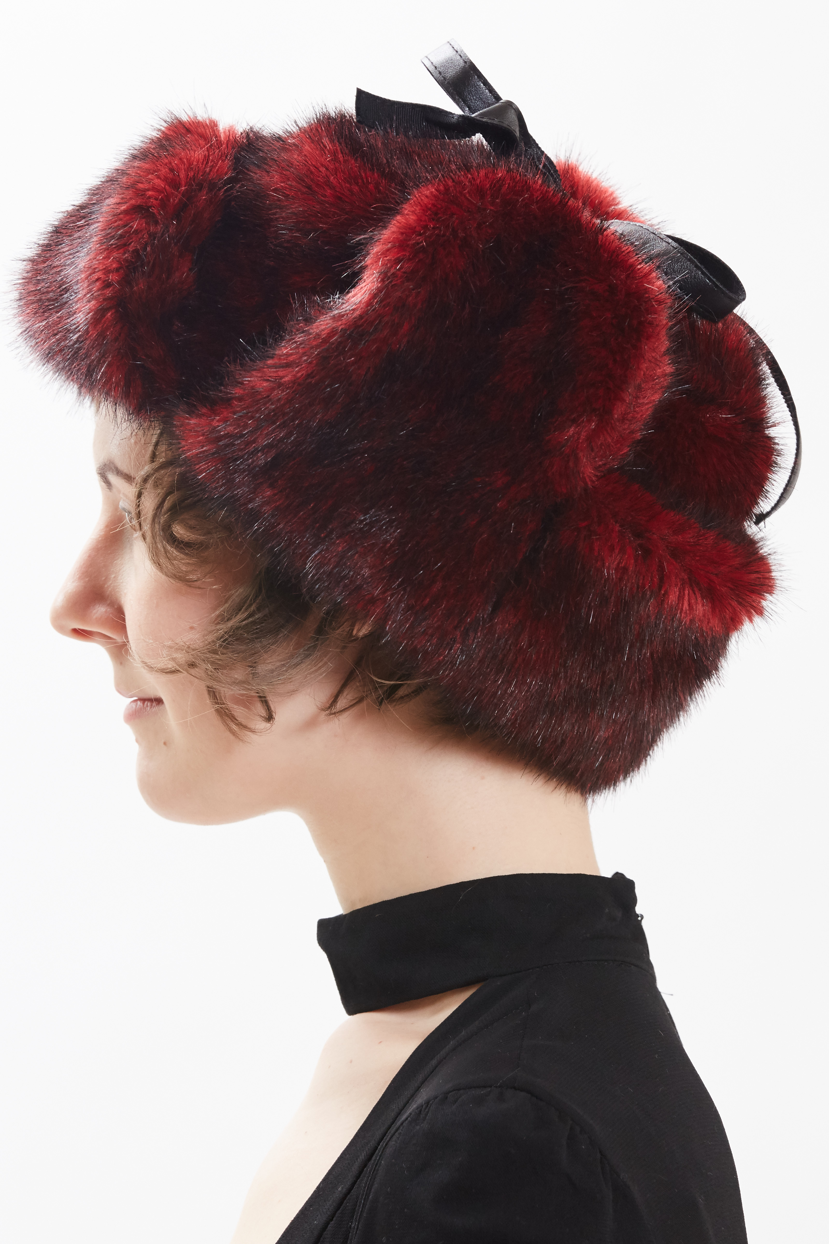 Trapper Hat - Red by Maison Atia on curated-crowd.com