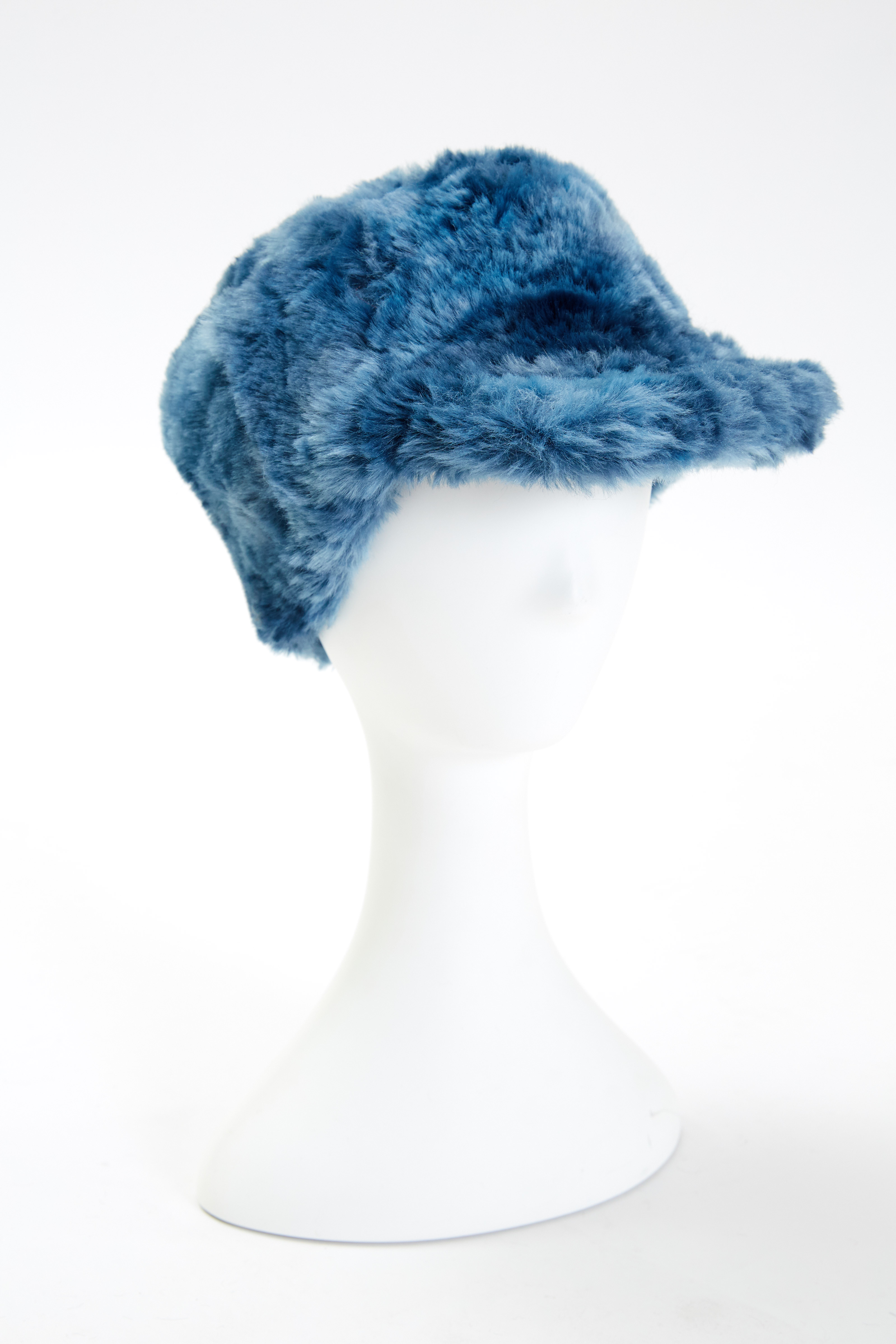 Baseball Cap - Blue by Maison Atia on curated-crowd.com
