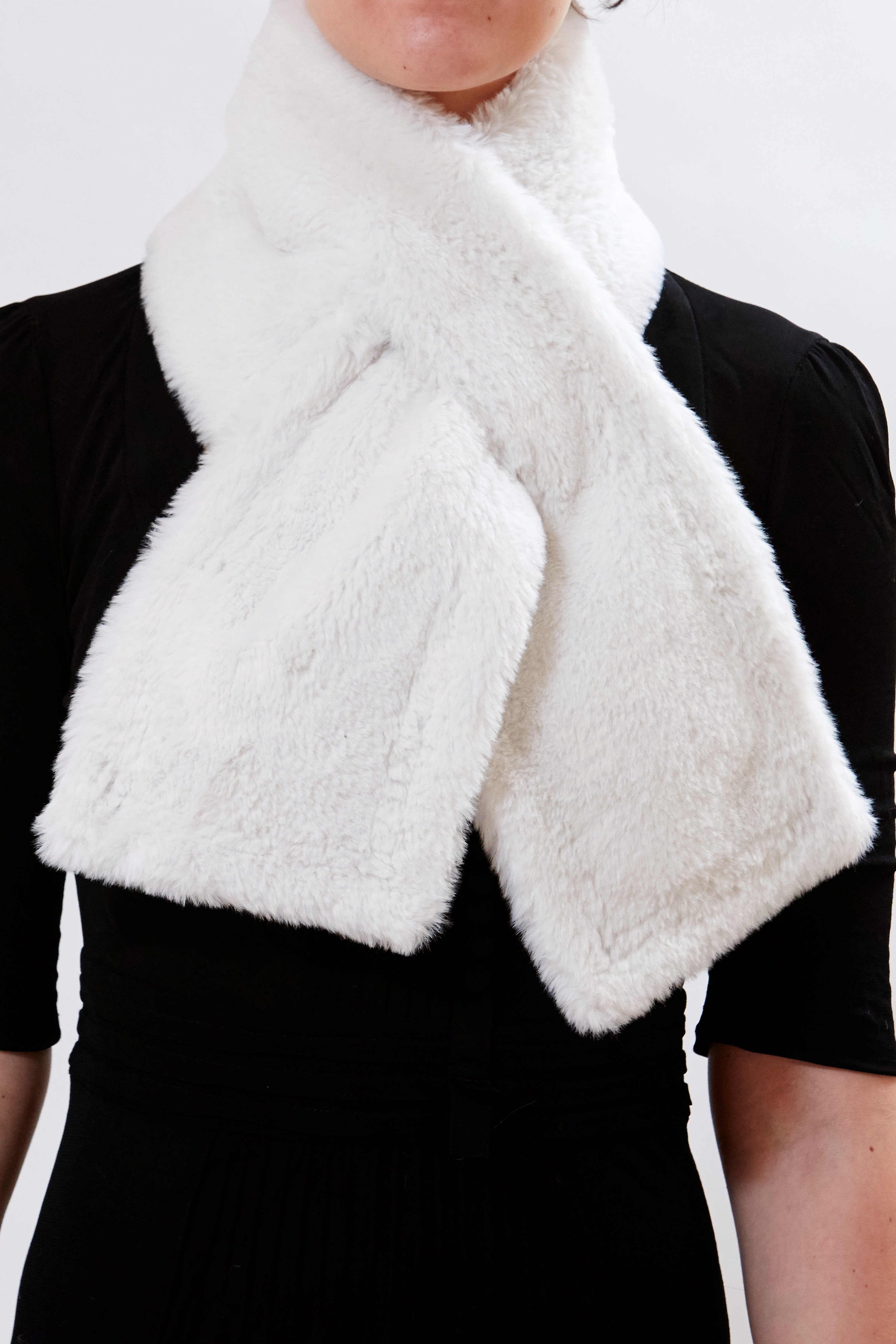 Scarf - Blanc by Maison Atia on curated-crowd.com