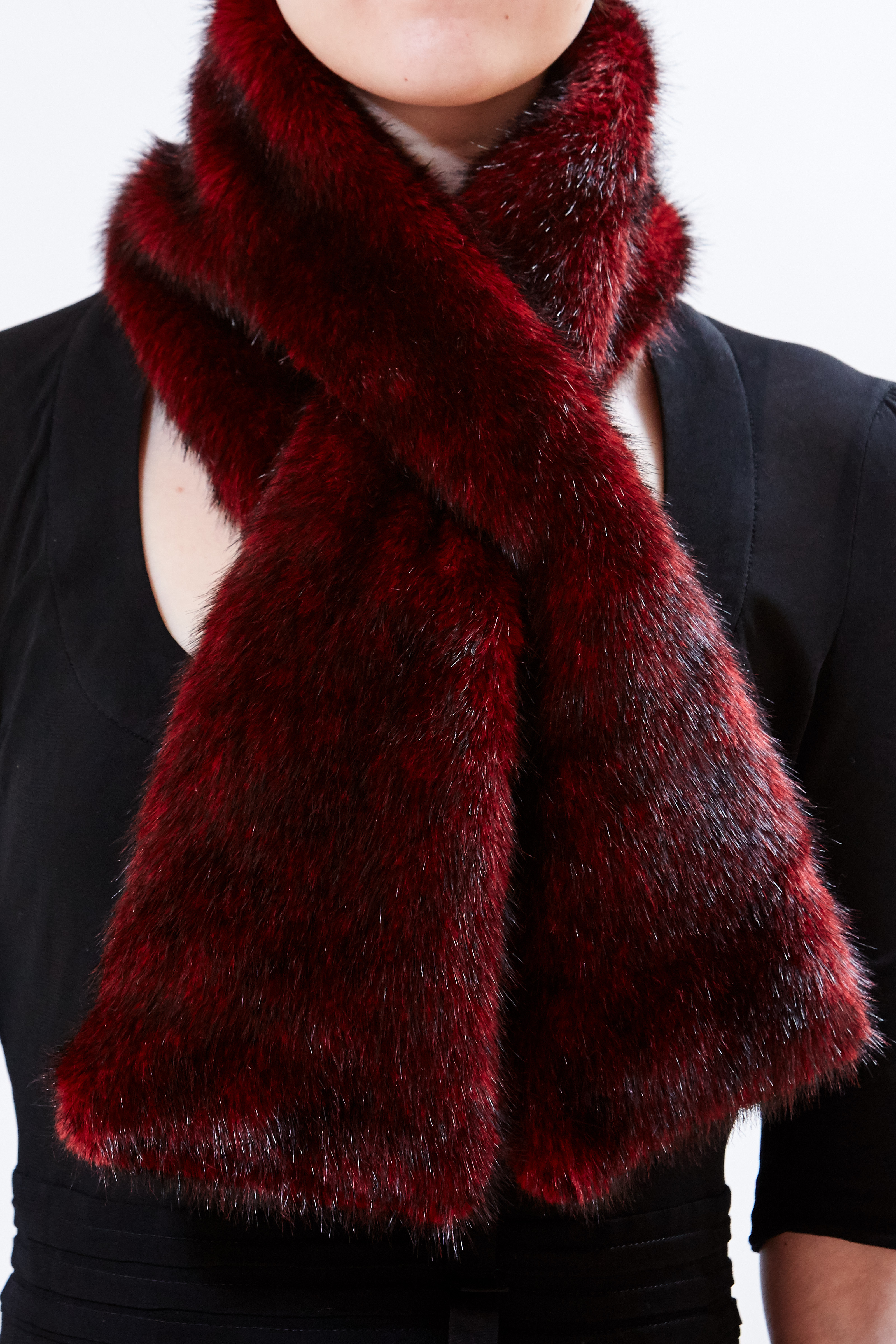 Scarf - Rouge by Maison Atia on curated-crowd.com