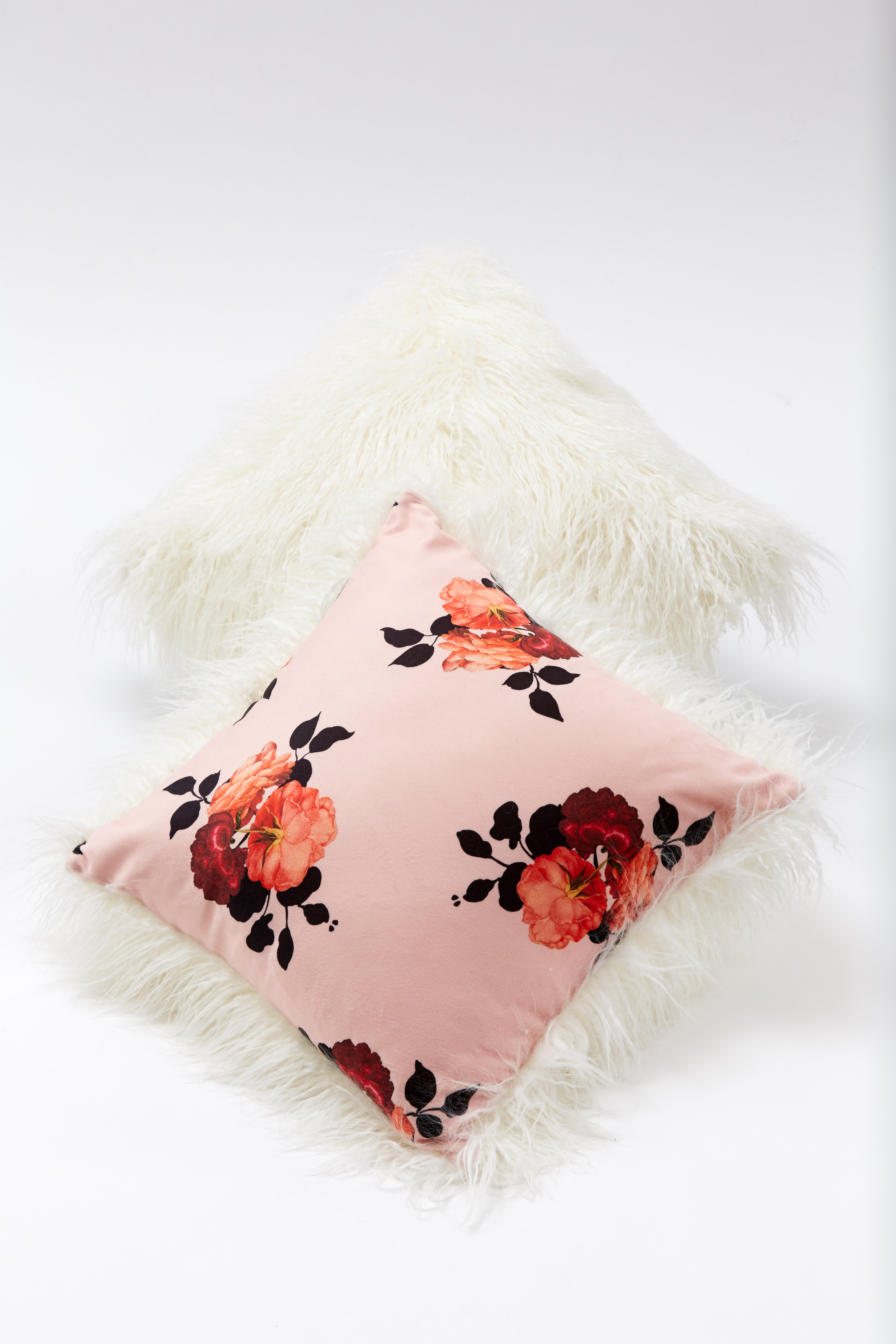 Pillow - Rose Floral by Maison Atia on curated-crowd.com