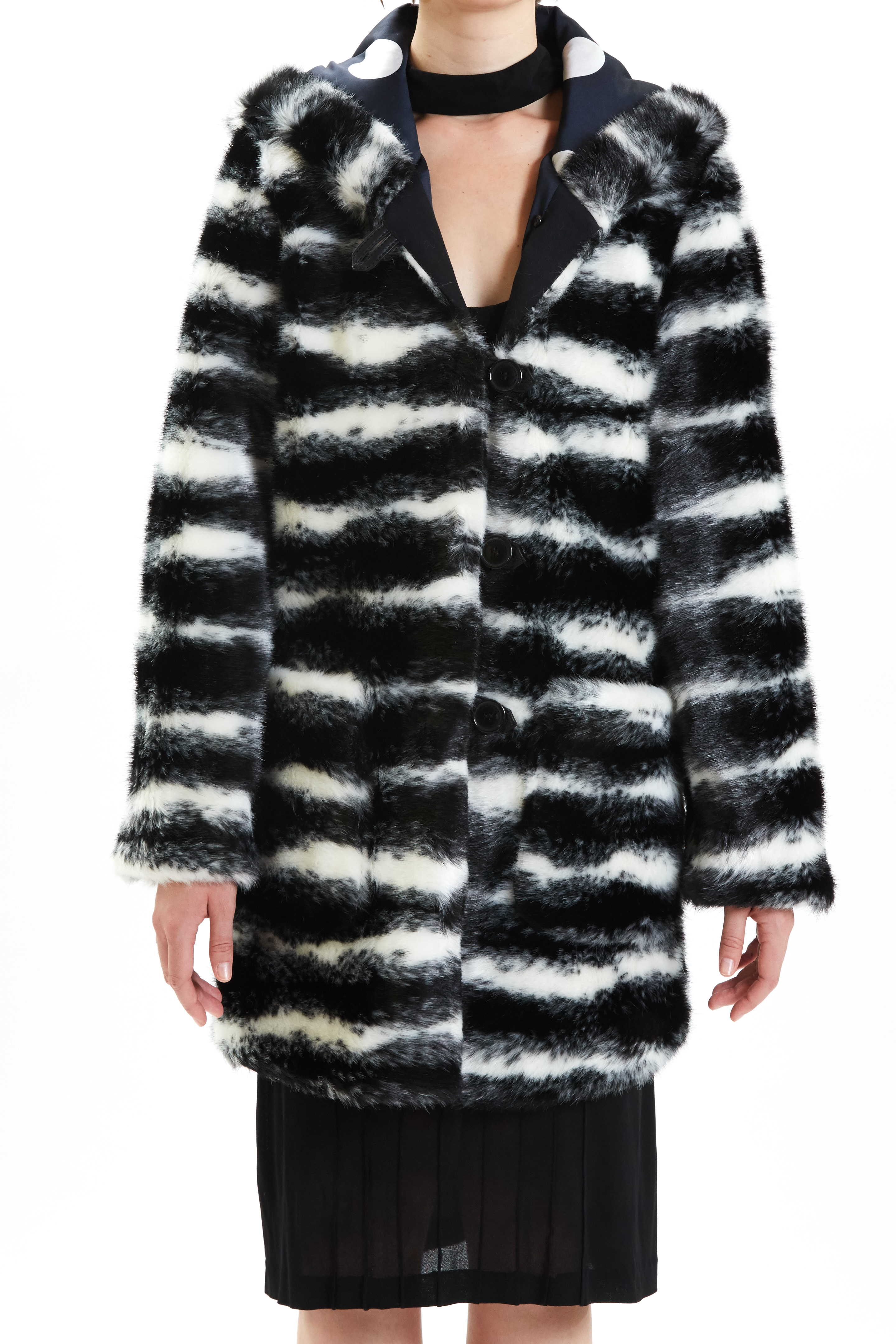 Valentine - Black Cross Mink by Maison Atia on curated-crowd.com