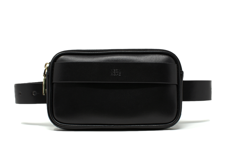 Bumbag - black by Neon Hope on curated-crowd.com