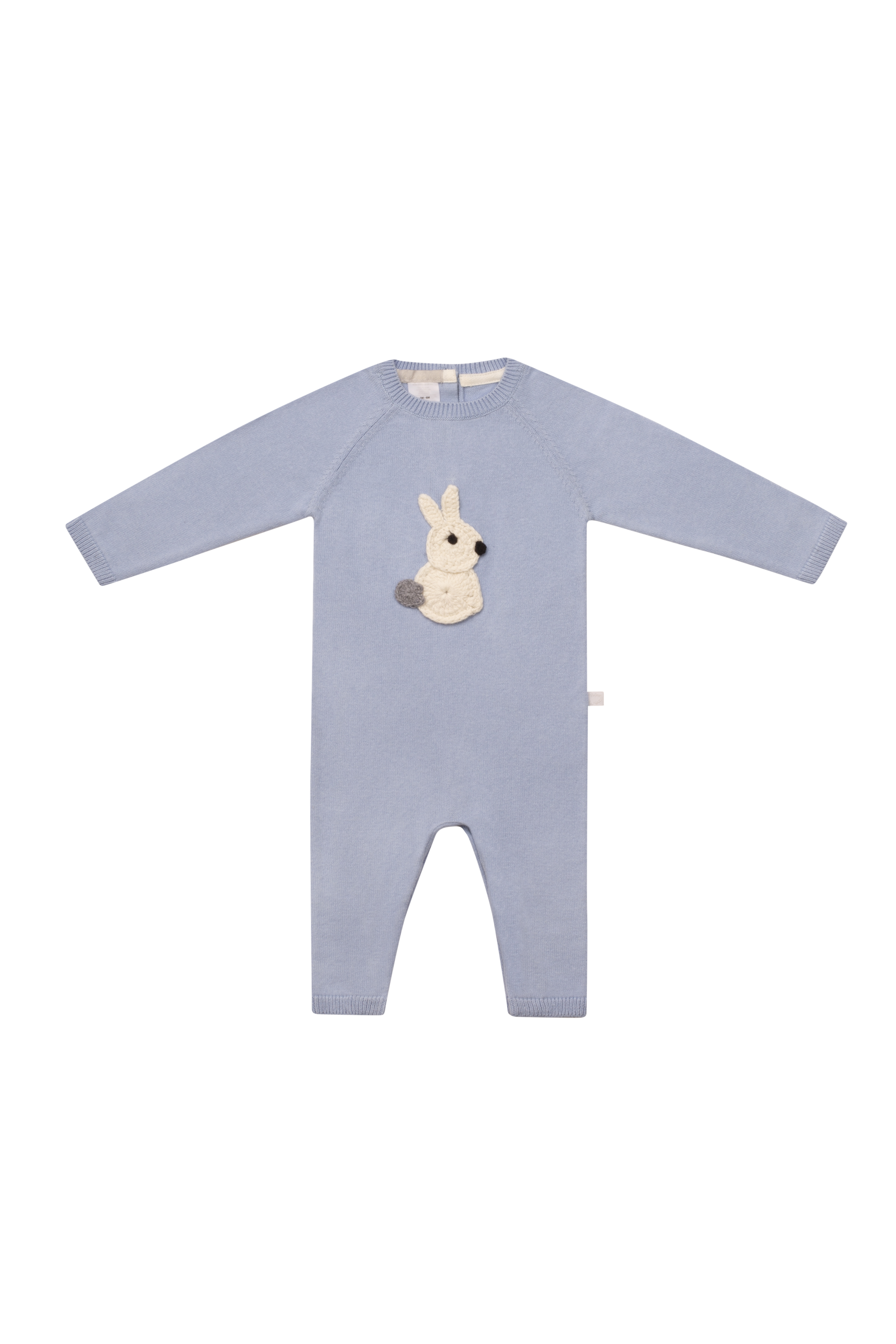 Hunny Bunny Blue Romper by Arc de Noa on curated-crowd.com
