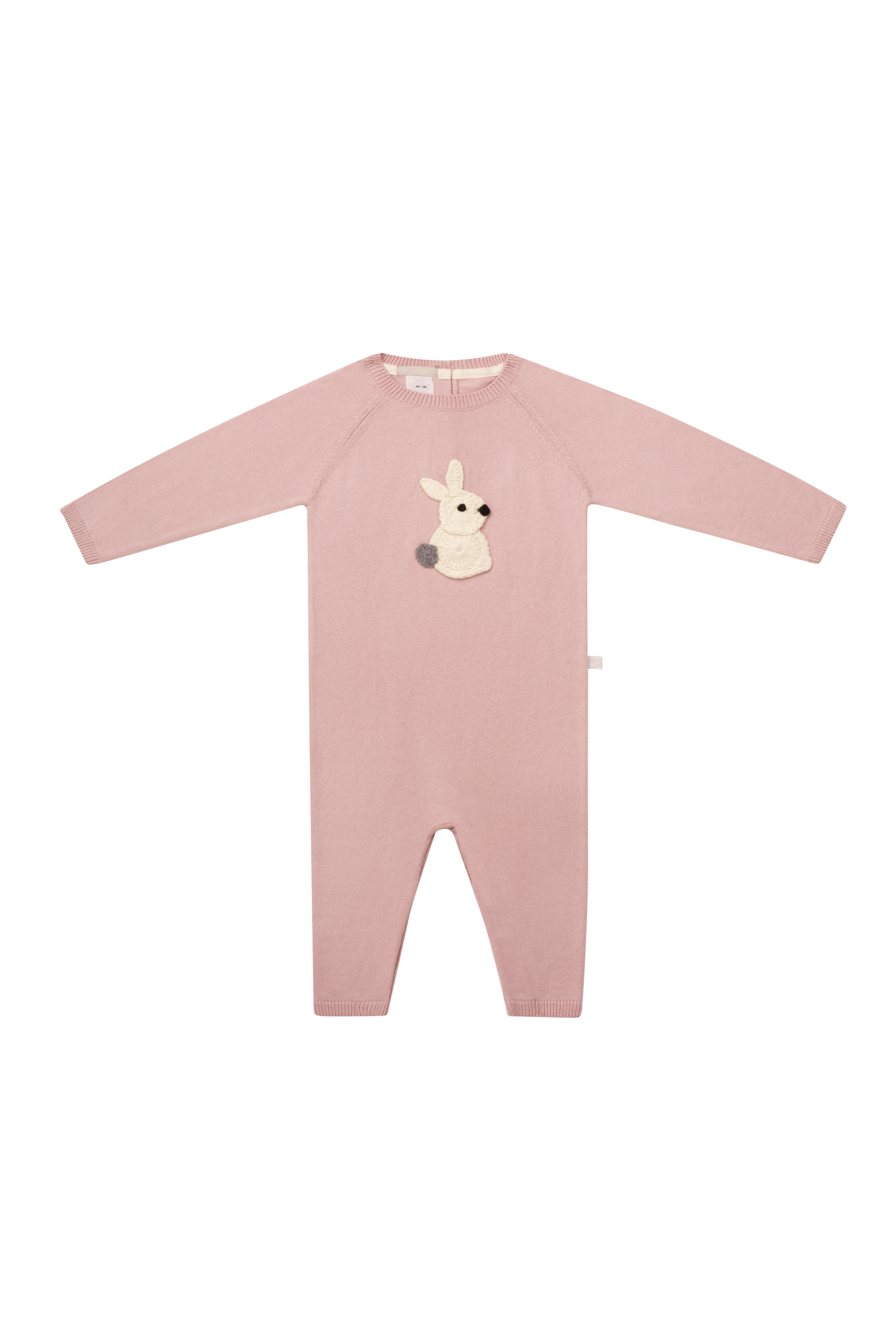 Hunny Bunny Pink Romper by Arc de Noa on curated-crowd.com