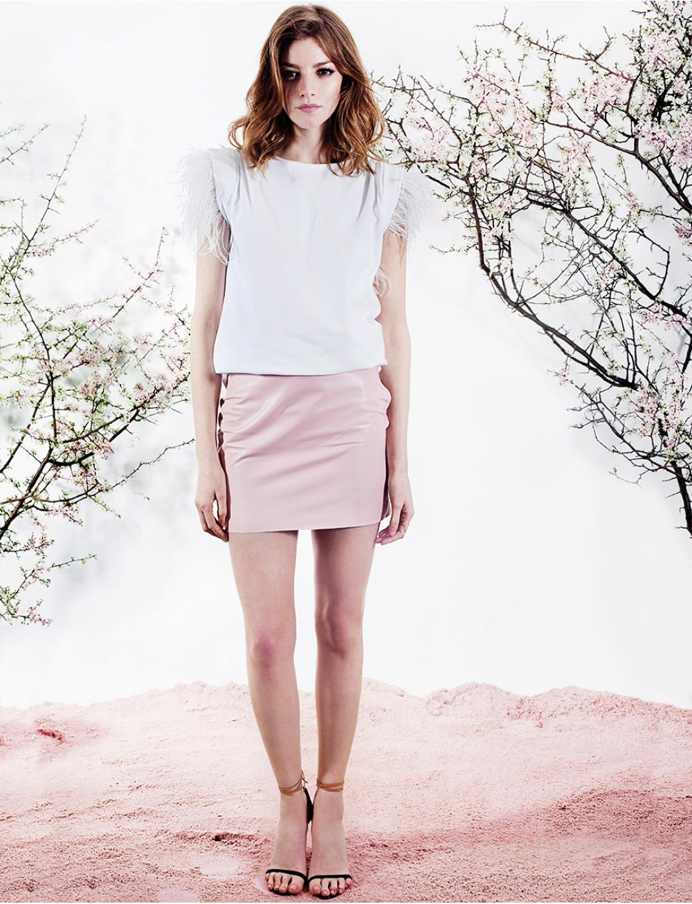 Fly Away Top - White by Manurí on curated-crowd.com