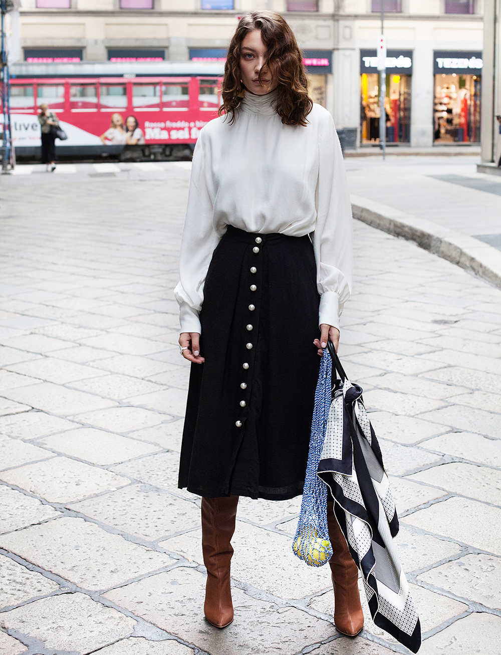 Avenue Skirt by Manurí on curated-crowd.com