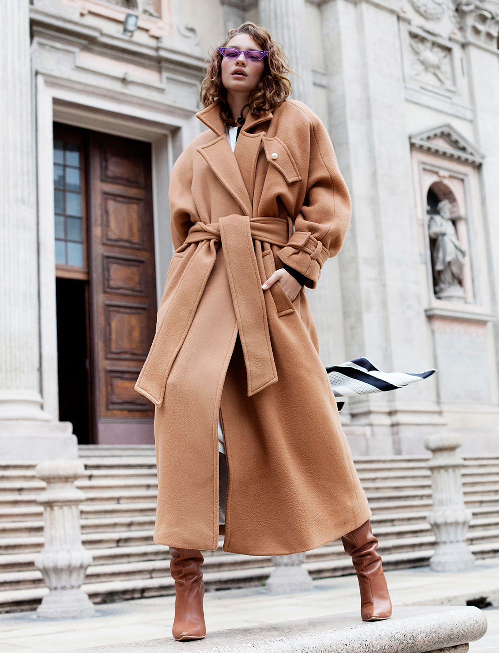 Avenue Coat by Manurí on curated-crowd.com