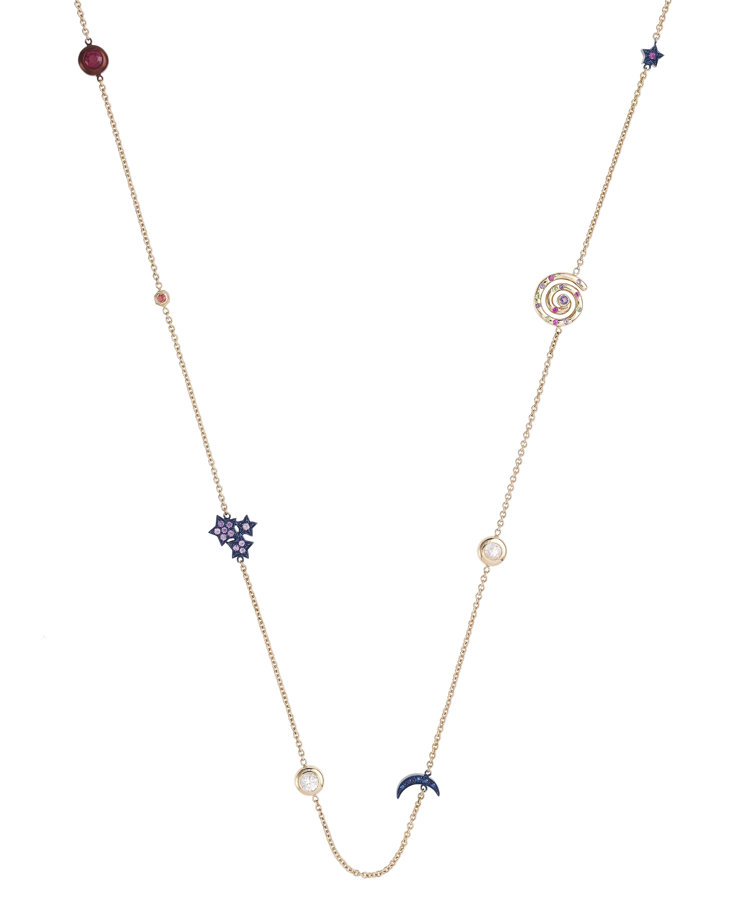 Celestial Necklace by Marmari on curated-crowd.com