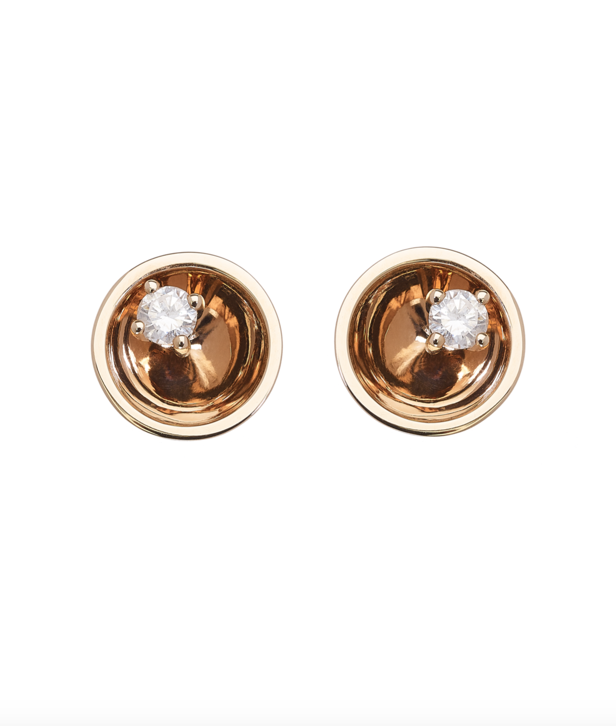 Large Floating Star Diamond Earrings by Marmari on curated-crowd.com