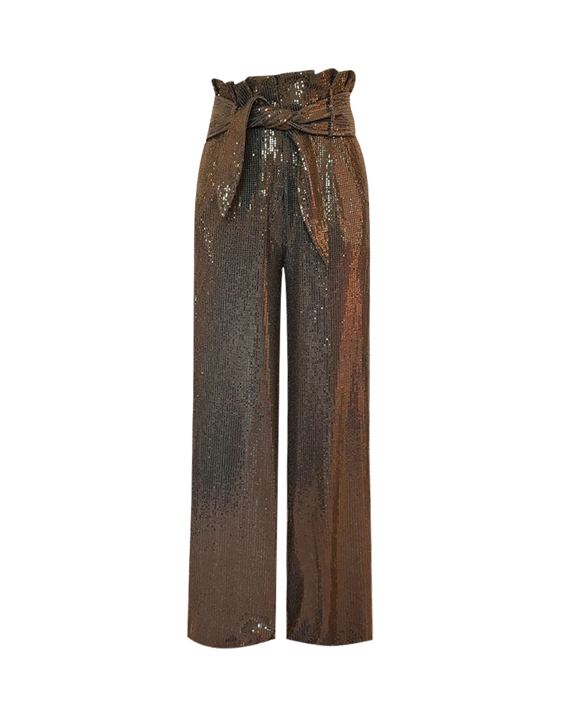 Iggy Pants - Metallic Brown by Jessica K on curated-crowd.com