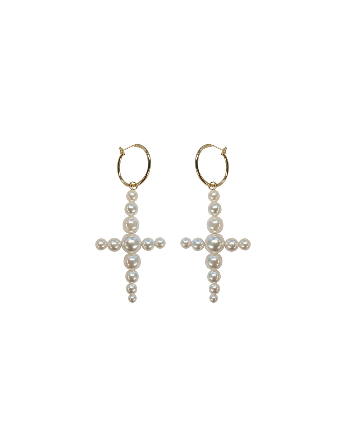 Cross Earrings by Jessica K on curated-crowd.com