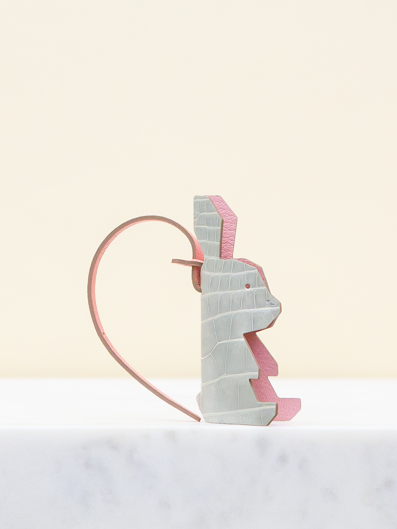 Chloe Bag Charm - Grey by Chance Mystère on curated-crowd.com