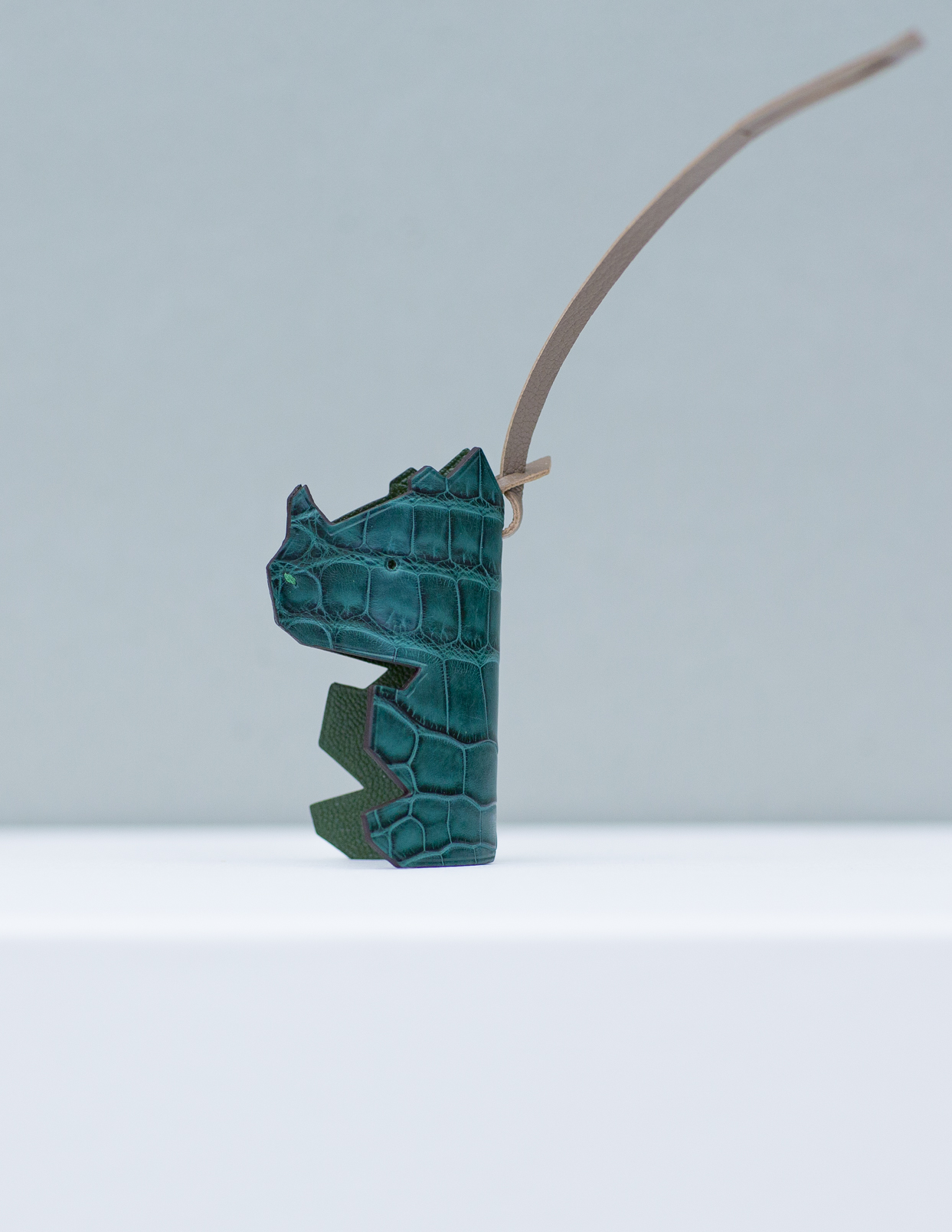 Mr Nono Bag Charm - Blue Green by Chance Mystère on curated-crowd.com