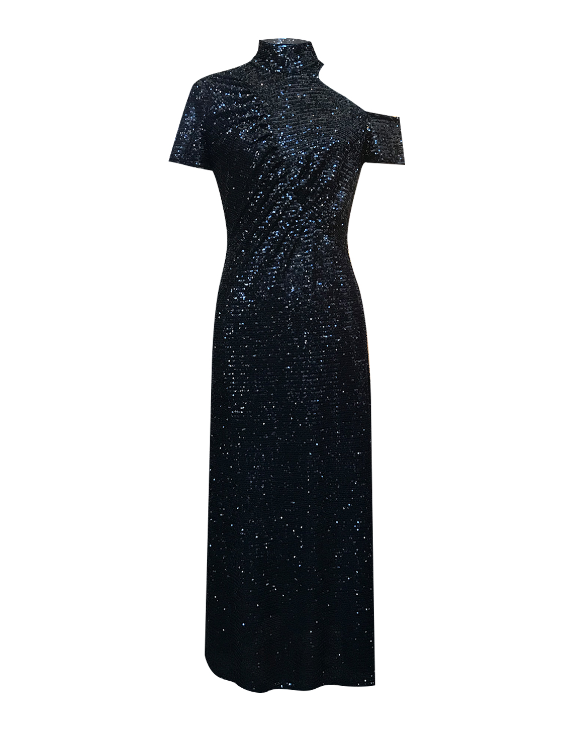 Celtic Dress-Sequins Black by Jessica K on curated-crowd.com