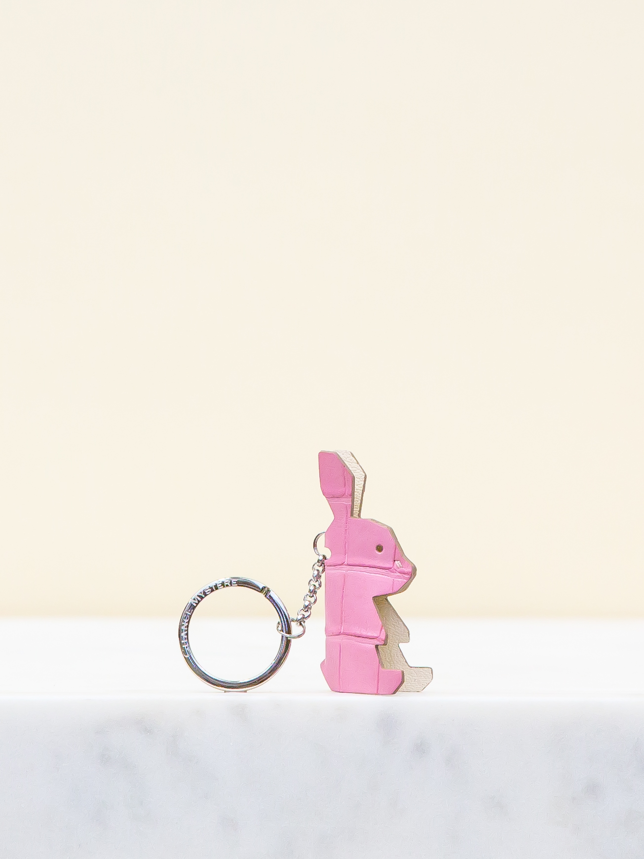 Baby Chloe Keyring - Pink by Chance Mystère on curated-crowd.com