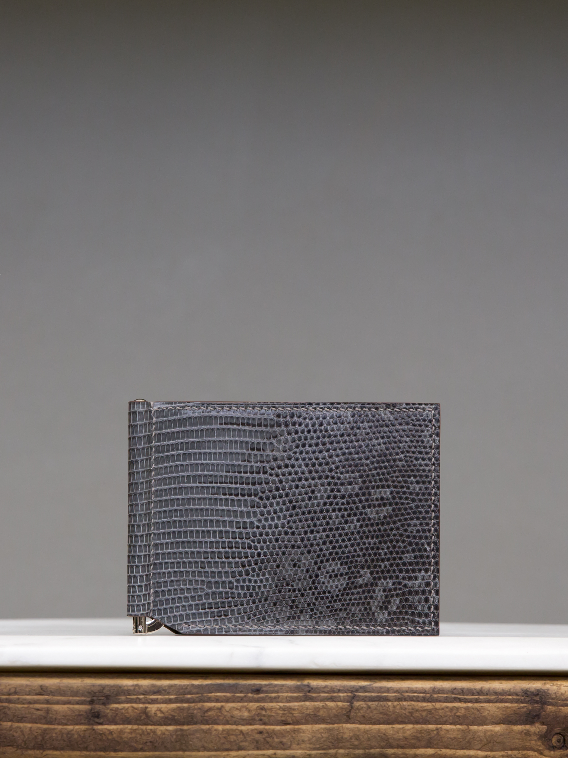 Money Clip Wallet - Dark Grey by Chance Mystère on curated-crowd.com